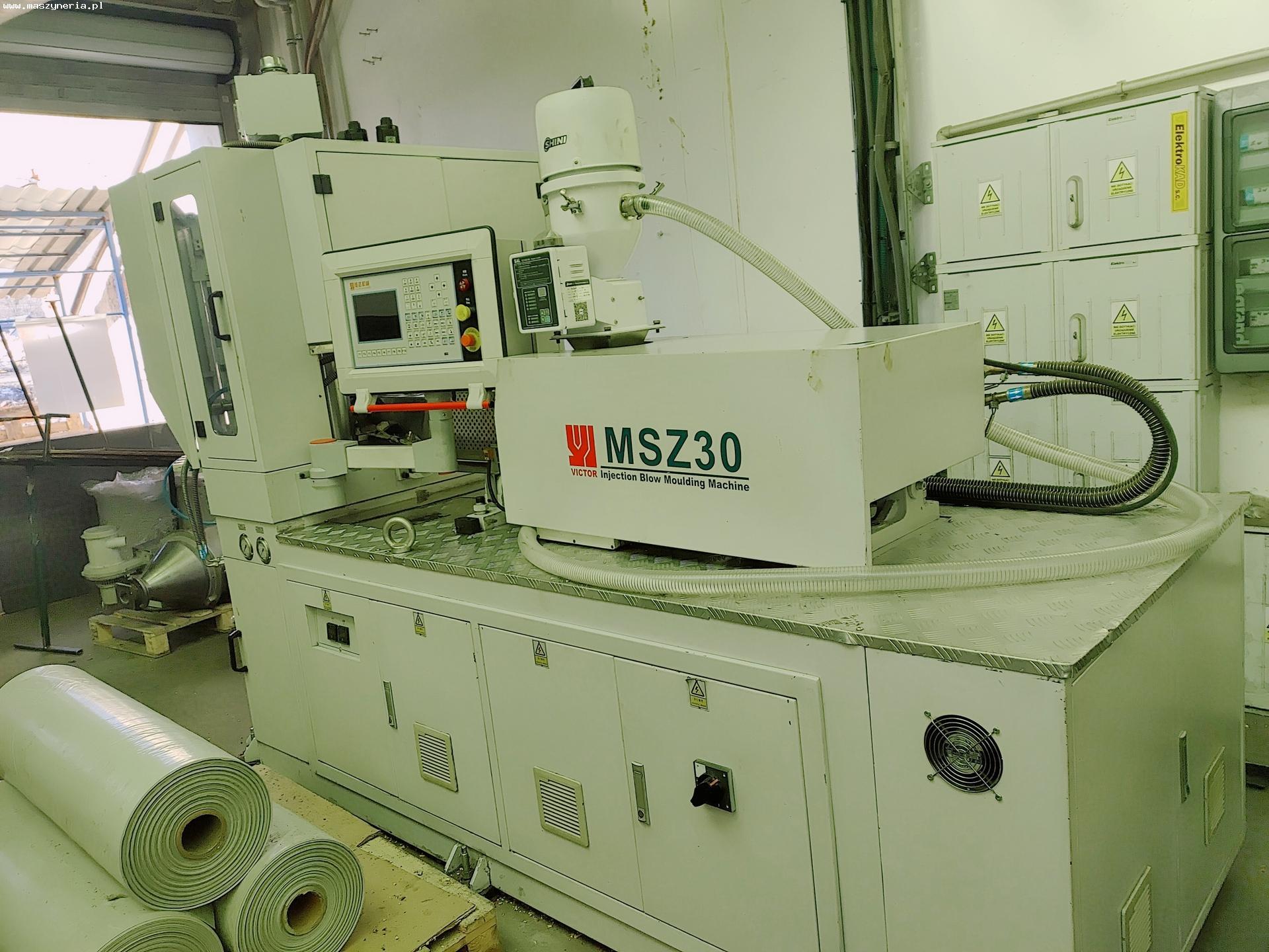 Soffiatrice ad iniezione VICTOR MACHINERY MSZ 30 in vendita - foto 1