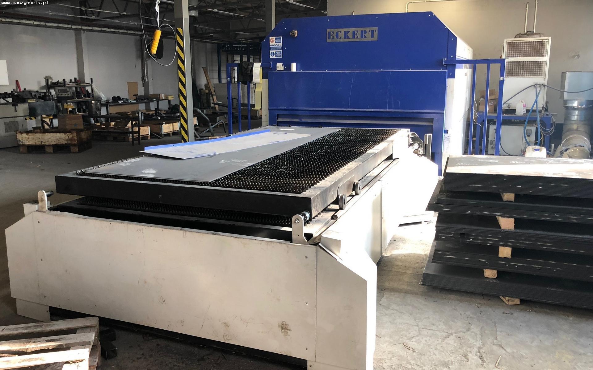 Macchina taglio laser fibra ECKERT DIAMENT FIBER 2 KW in vendita - foto 3