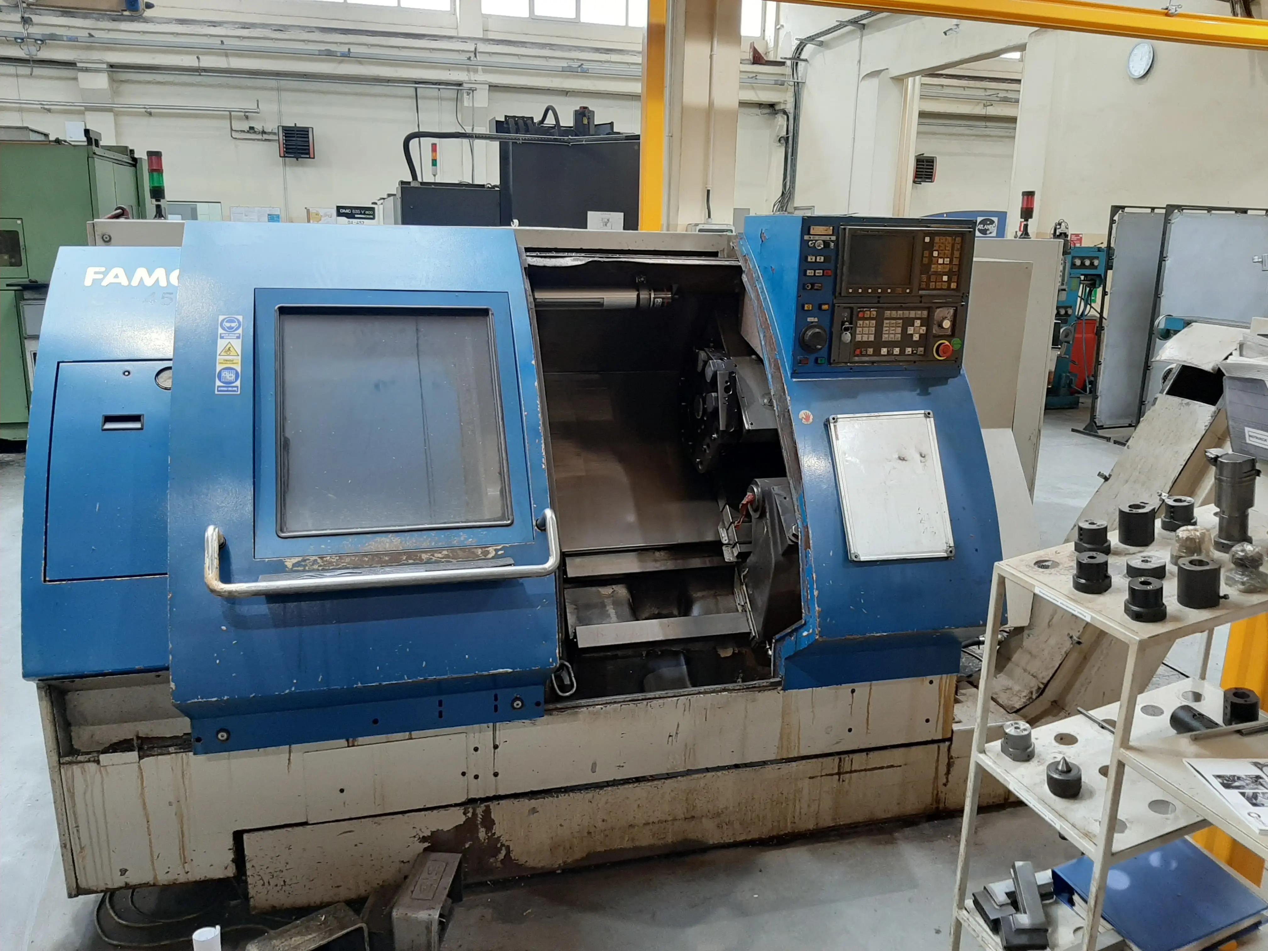Tornio CNC FAMOT 400 in vendita - foto 1