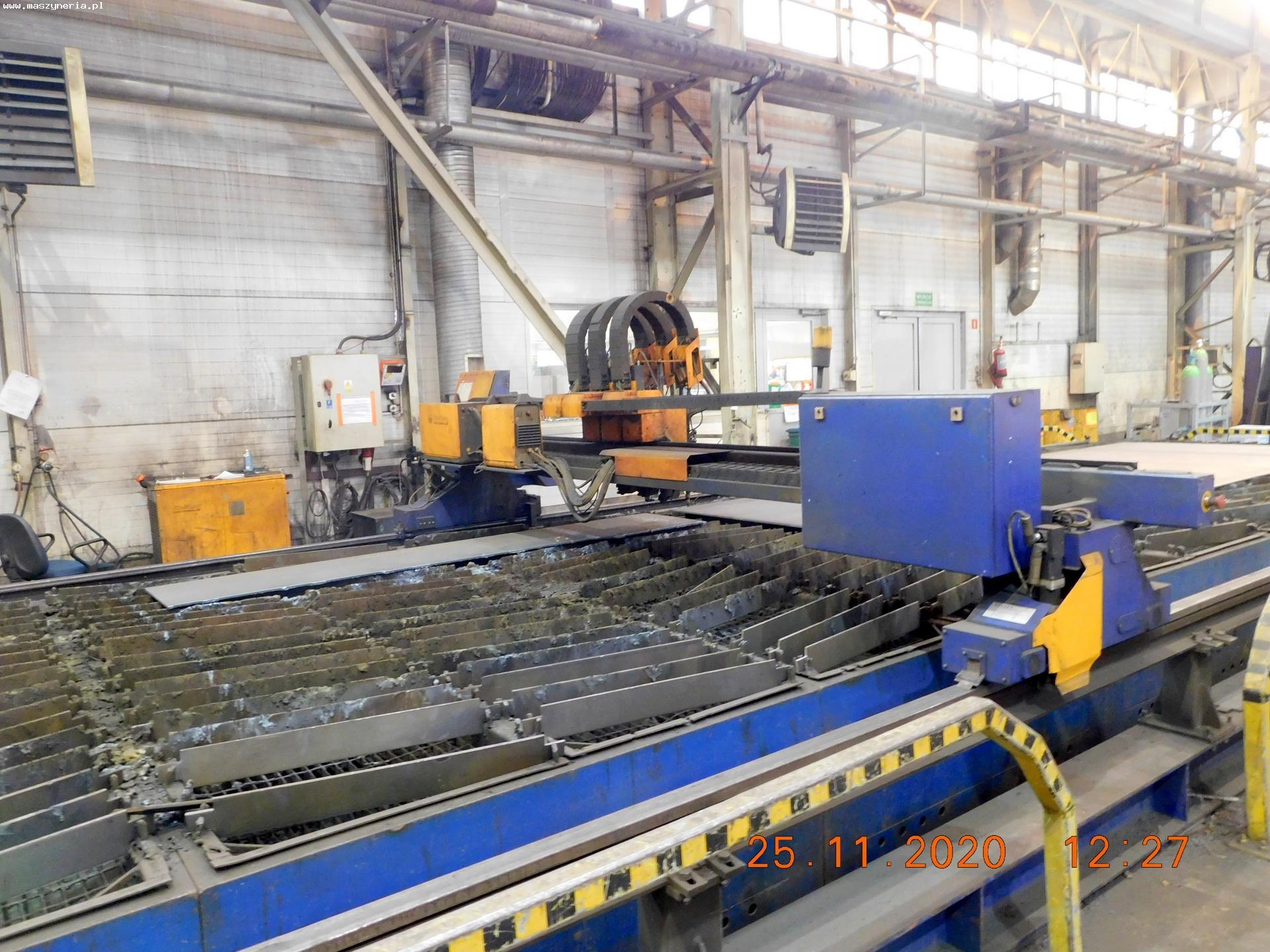 Impianto taglio plasma e ossitaglio ECKERT JANTAR 2 in vendita - foto 4