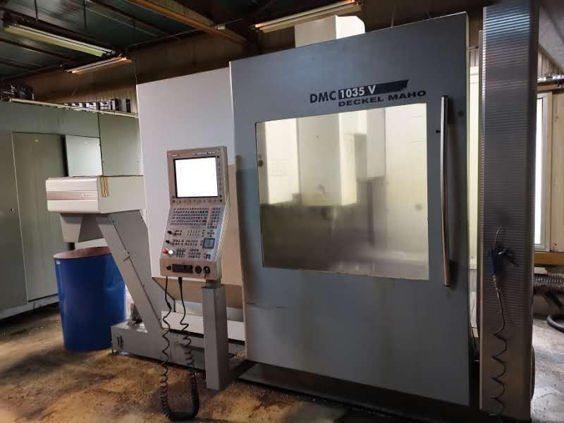 Centro di fresatura DMG DECKEL MAHO DMC 1035V in vendita - foto 1