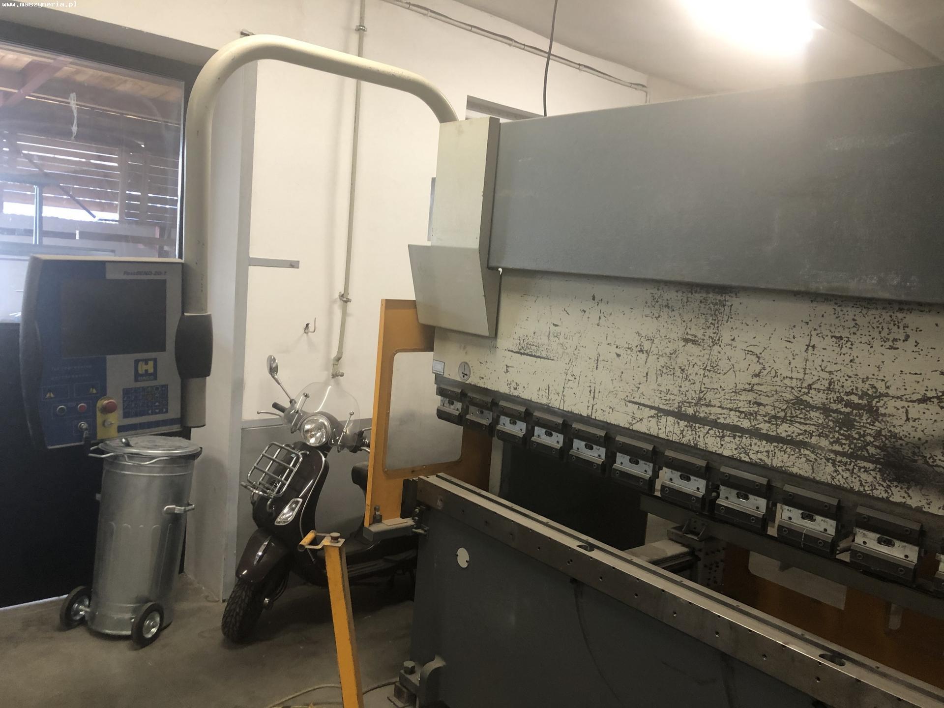 Pressa piegatrice CNC HACO ERM 36135 in vendita - foto 3