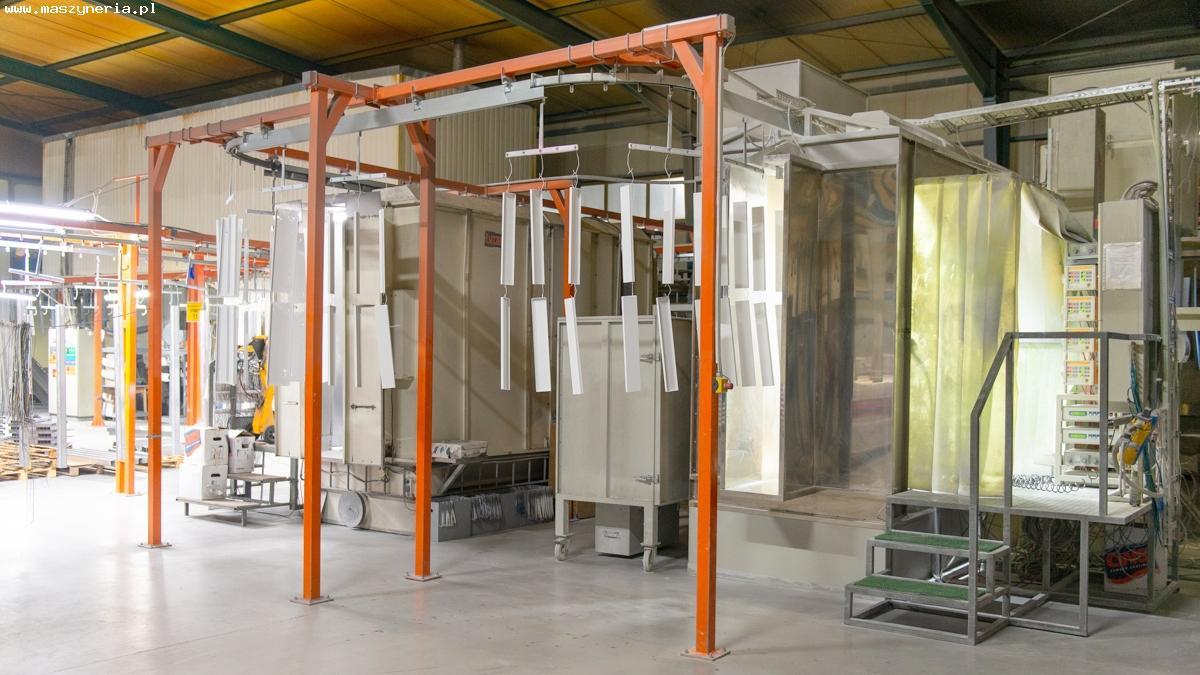 L'impianto di verniciatura a polvere MONKIEWICZ in vendita - foto 1