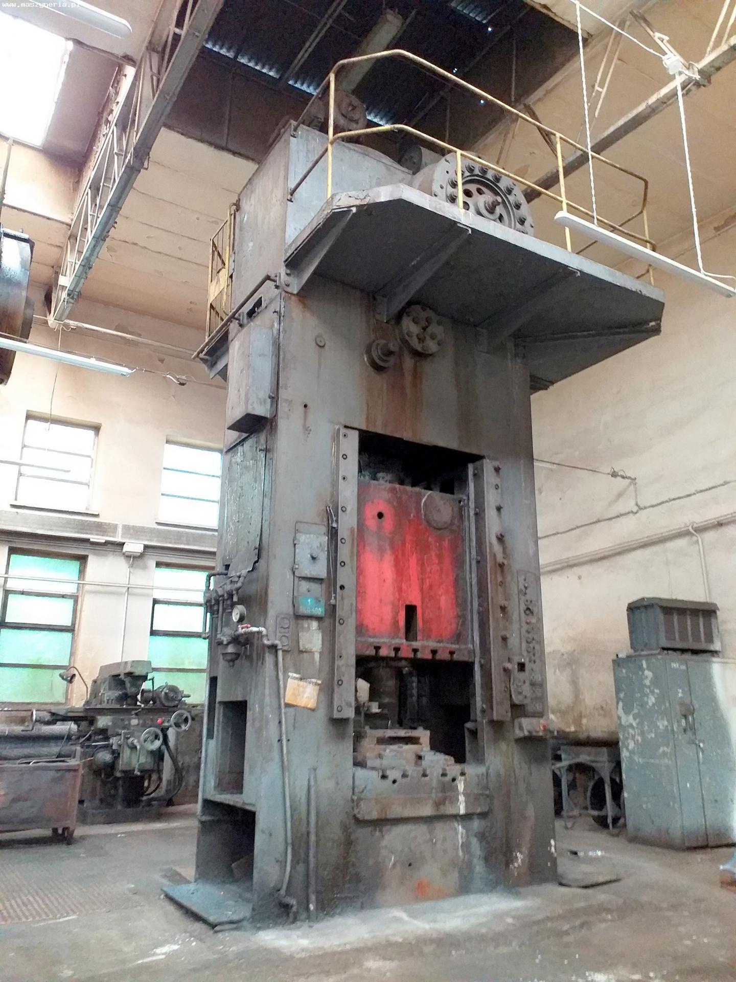 Pressa meccanica due montanti ZAMECH PKRR 400A in vendita - foto 2