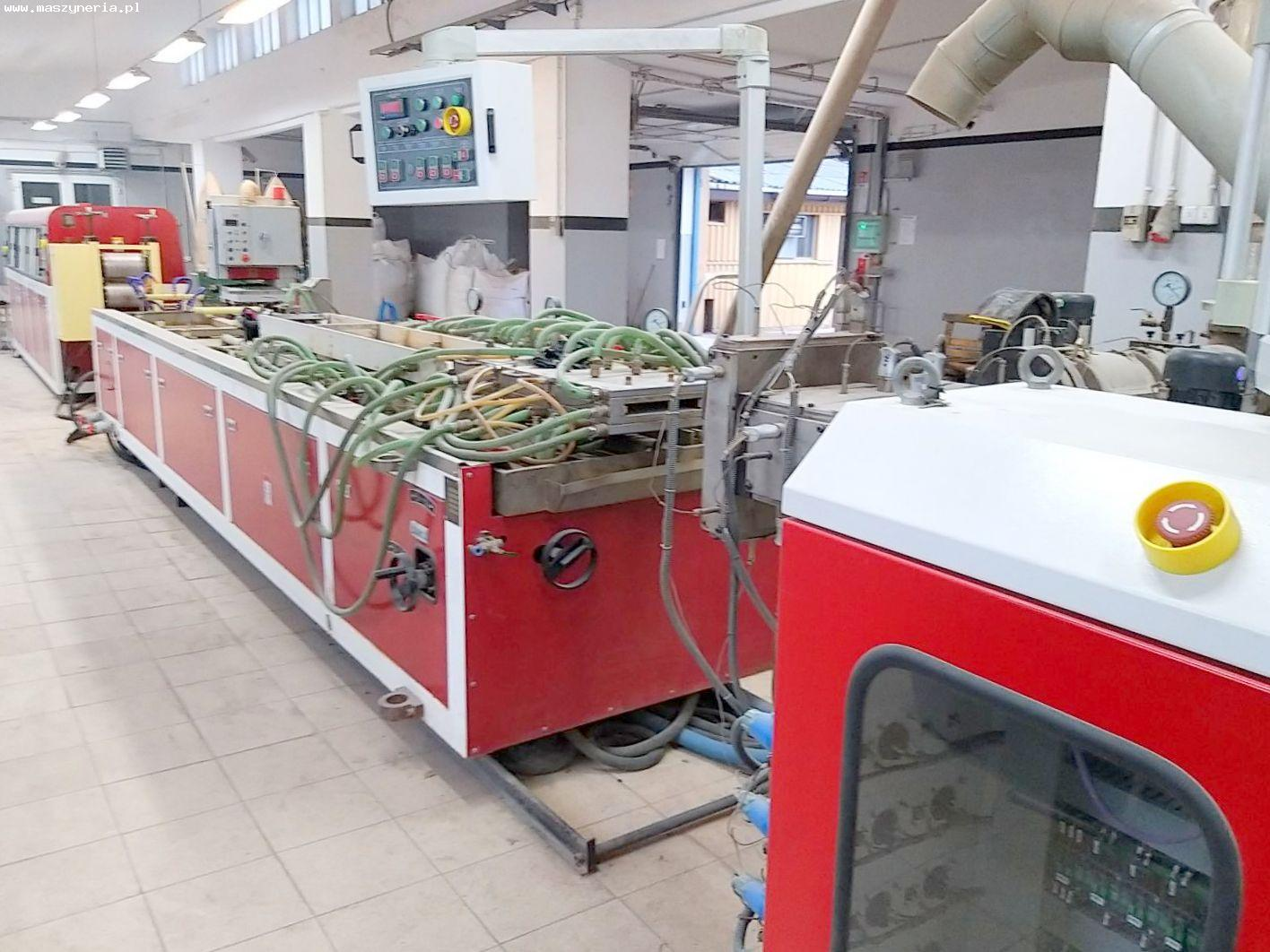 Linea di produzione di decking composito in PVC JWELL in vendita - foto 5