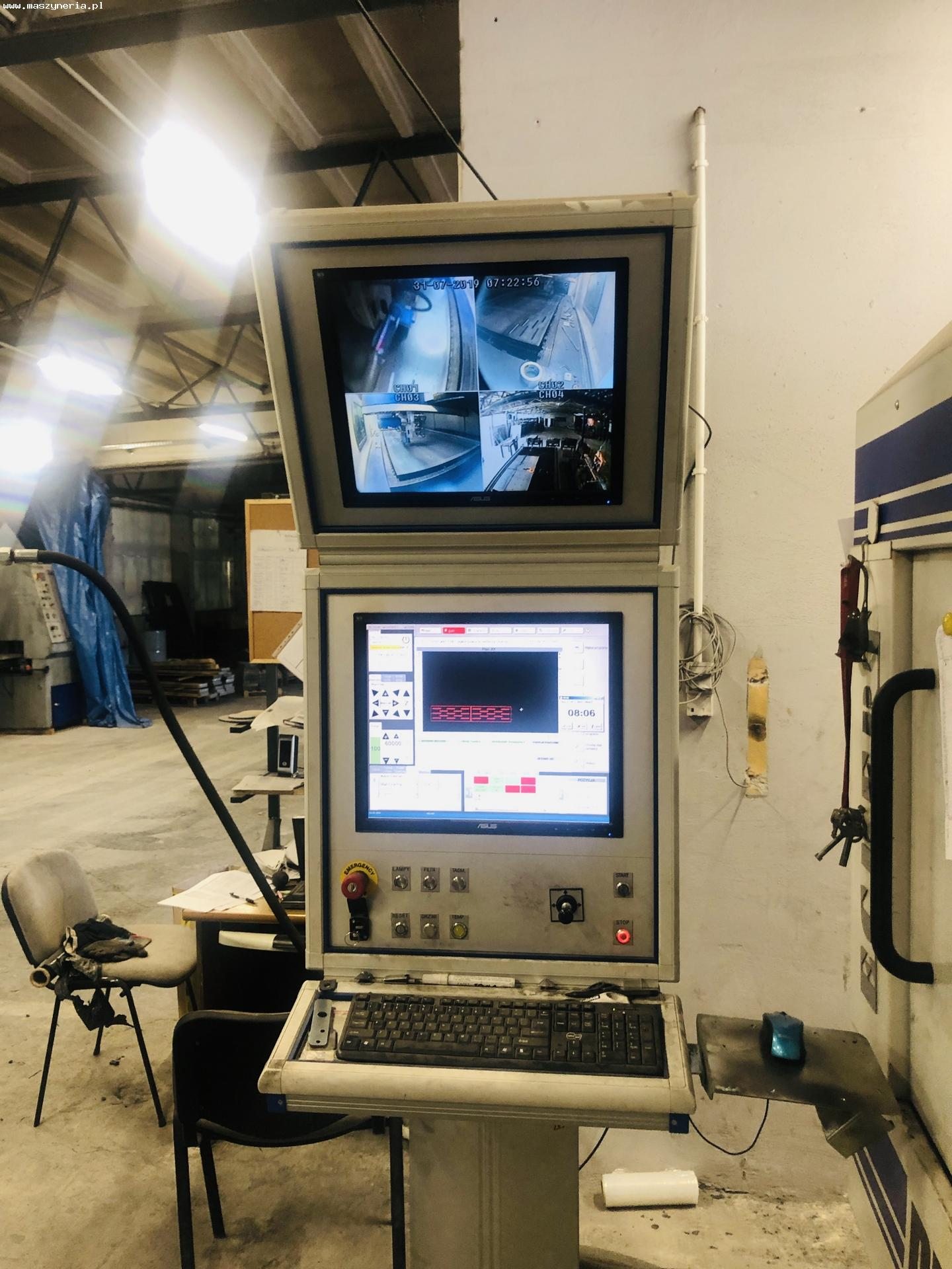 Macchina taglio laser fibra ECKERT DIAMENT FIBER 2 KW in vendita - foto 4