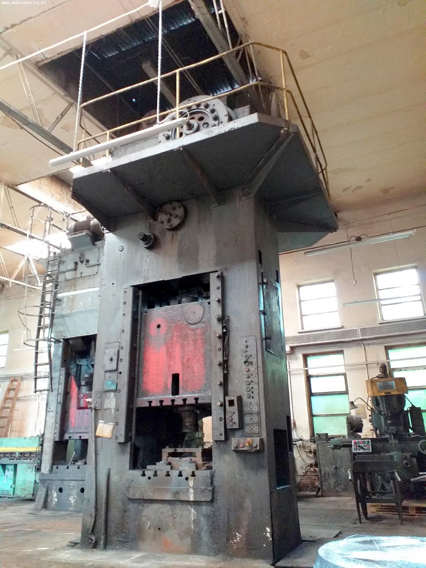 Pressa meccanica due montanti ZAMECH PKRR 400A in vendita - foto 1