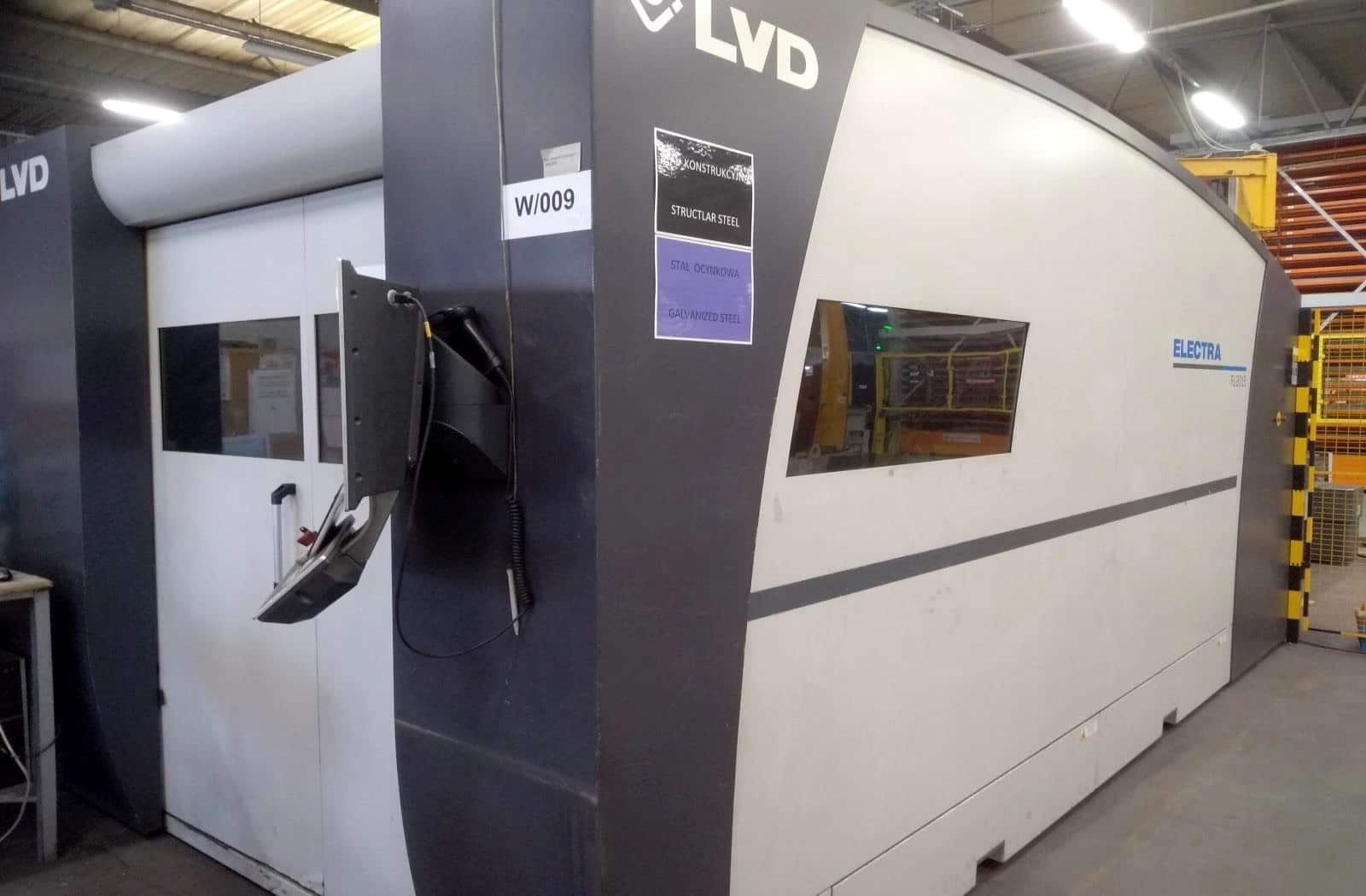 Laser a fibra LVD ELECTRA FL-3015 in vendita - foto 1
