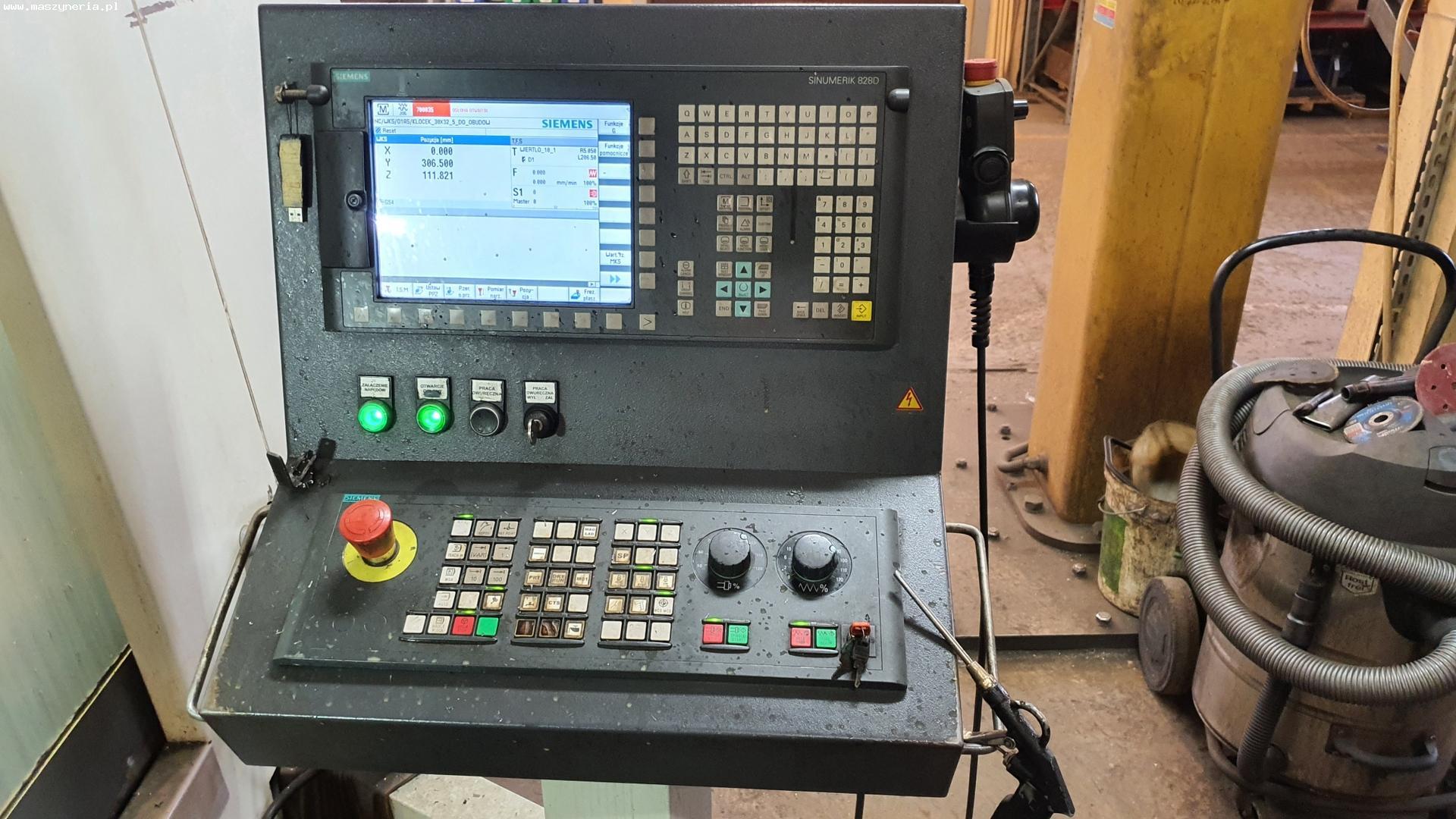 Centro di fresatura verticale AVIA VMC 1300 in vendita - foto 2