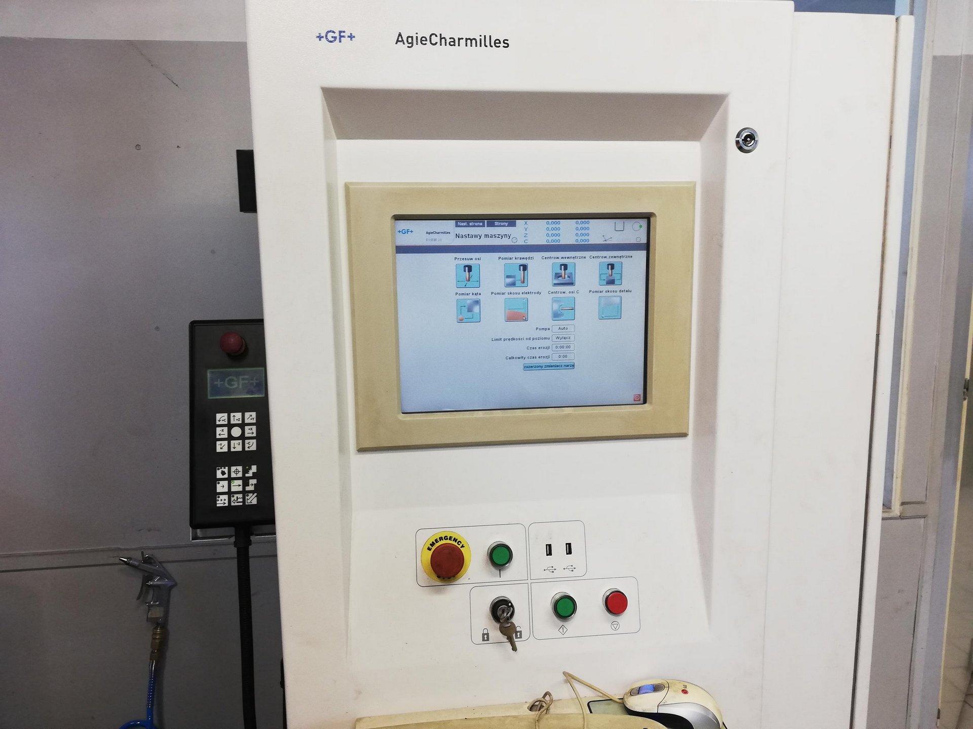 Elettroerosione a tuffo AGIE CHARMILLES FORM 20 in vendita - foto 5
