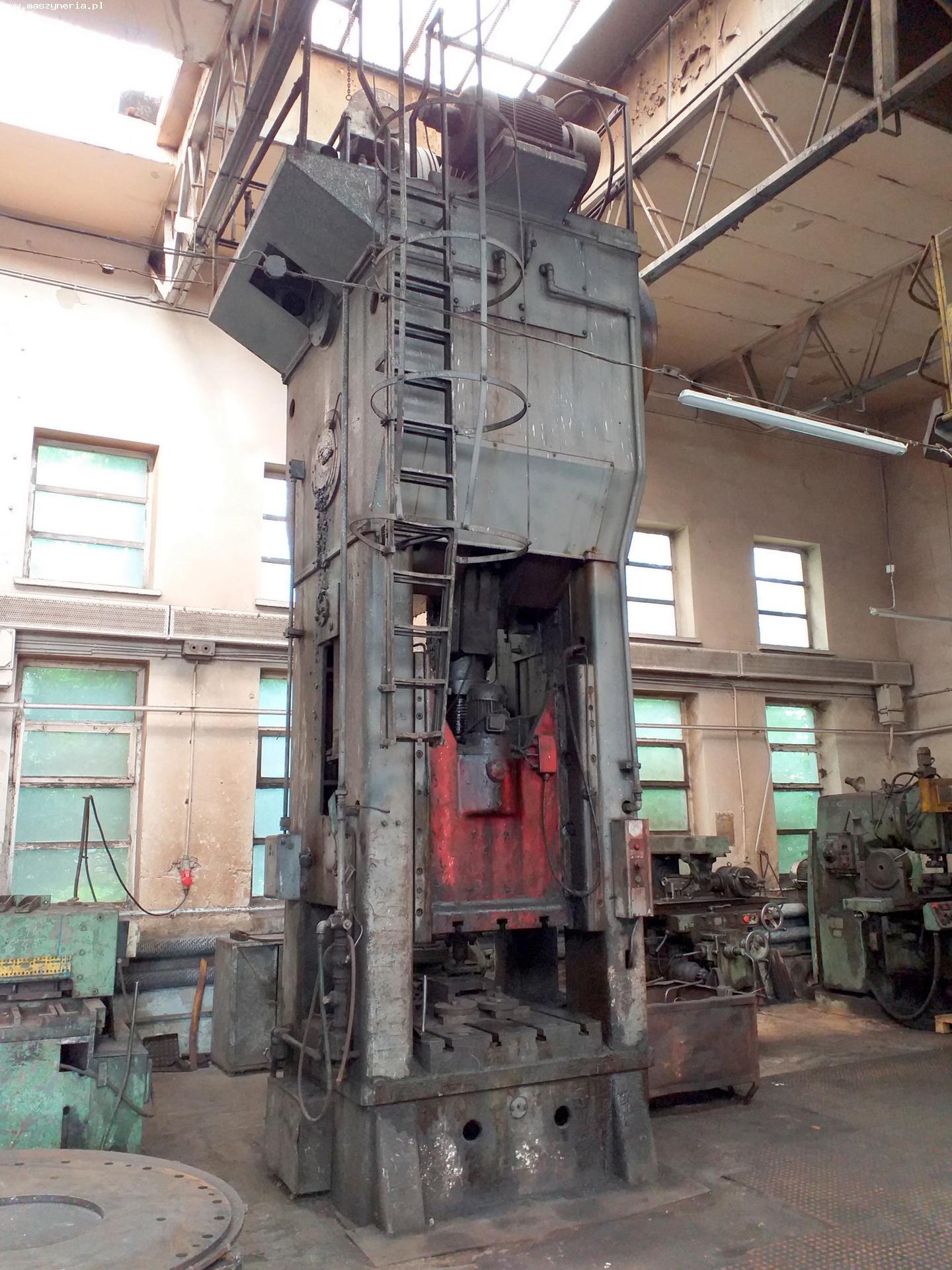 Pressa meccanica due montanti HECKERT PKZ 400.1 in vendita - foto 2