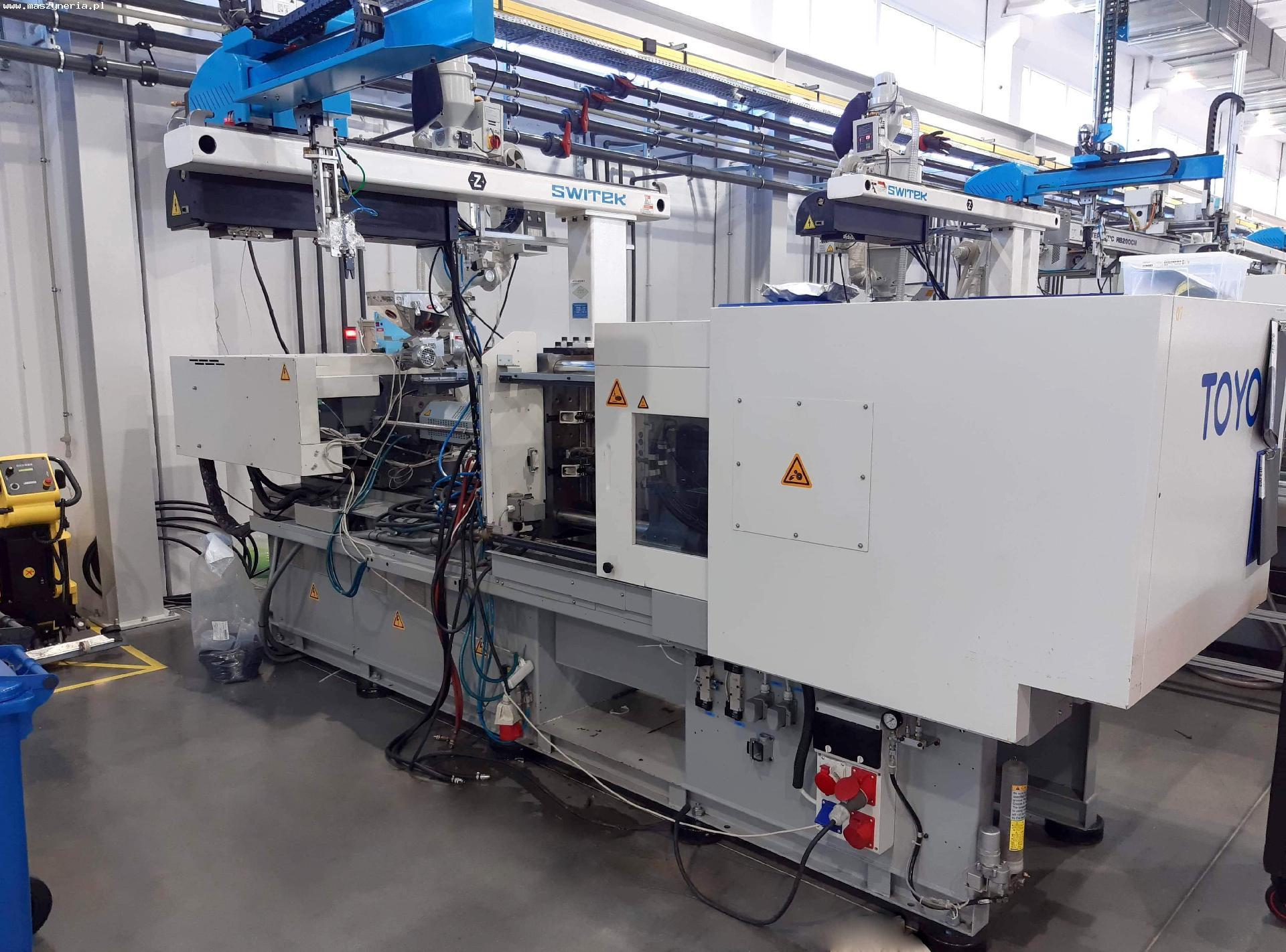TOYO MACCHINE SI-130-6 iniezione plastica macchina in vendita - foto 3