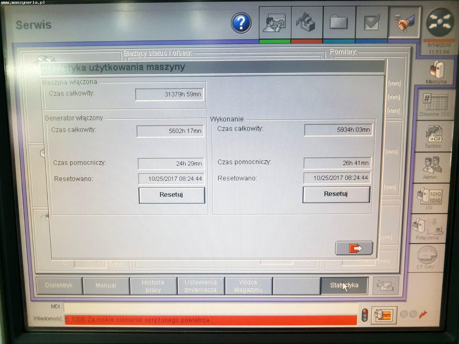 Elettroerosione a tuffo AGIE CHARMILLES FO 350 MS in vendita - foto 4