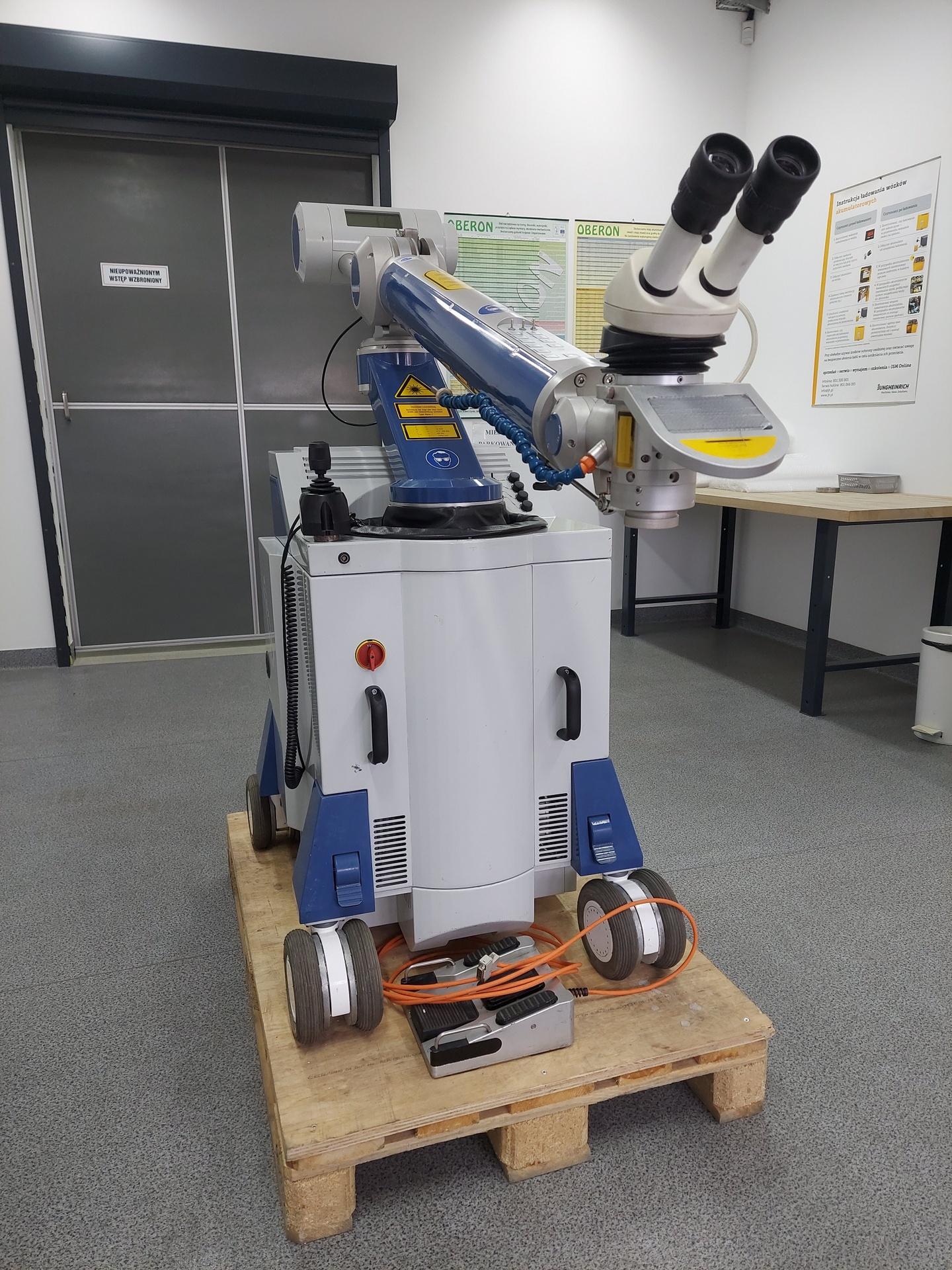 Saldatrice laser ALPHA LASER ALM 200 in vendita - foto 1