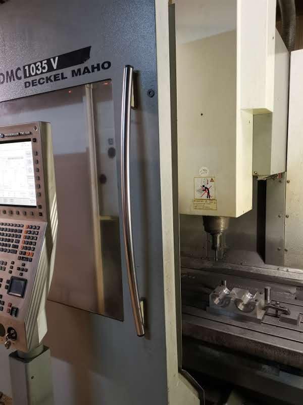 Centro di fresatura DMG DECKEL MAHO DMC 1035V in vendita - foto 4