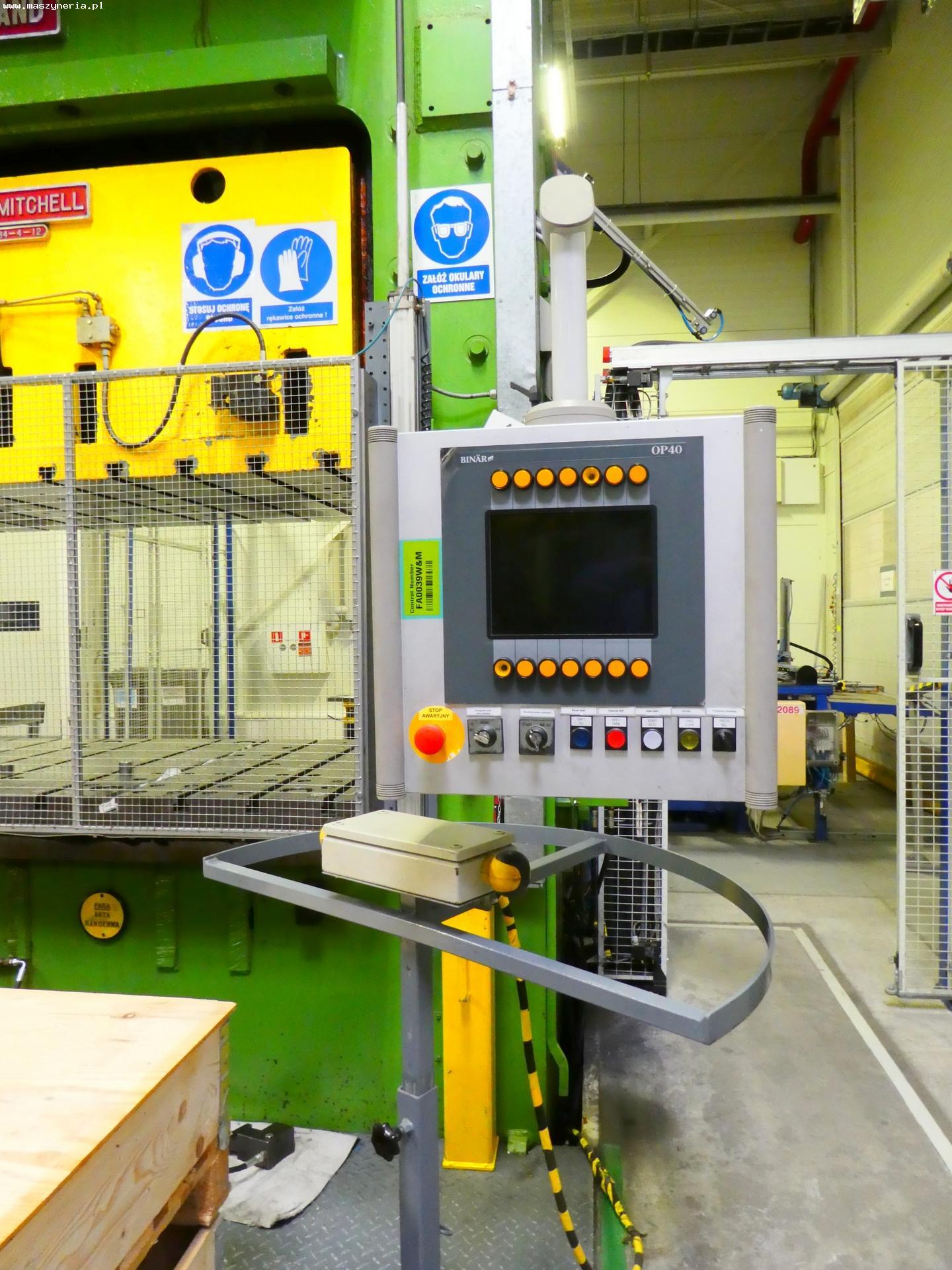 Pressa meccanica due montanti WILKINS MITCHELL E84-4-12 in vendita - foto 3