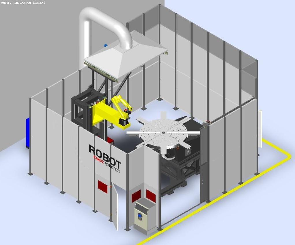 Isola robotizzata di saldatura Fanuc ARC Mate 120iC in vendita - foto 1