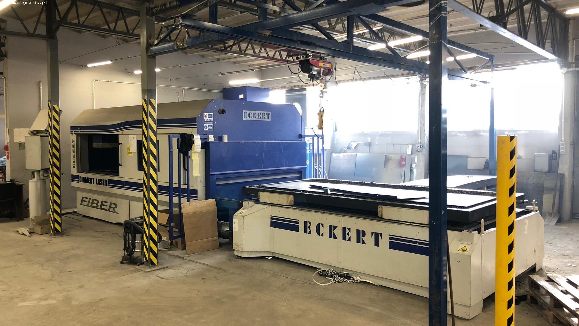 Macchina taglio laser fibra ECKERT DIAMENT FIBER 2 KW in vendita - foto 1
