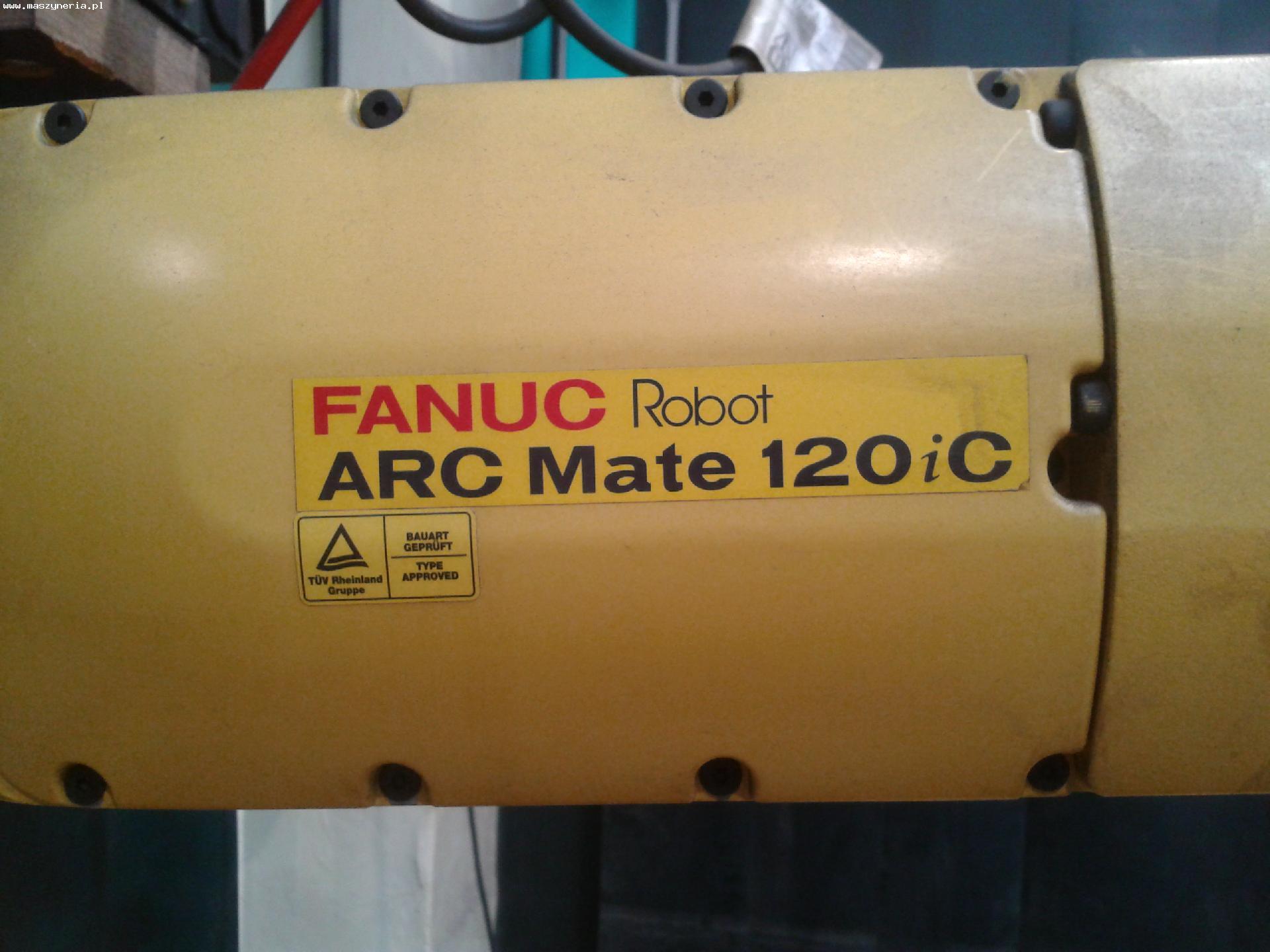 Isola robotizzata di saldatura Fanuc ARC Mate 120iC in vendita - foto 6