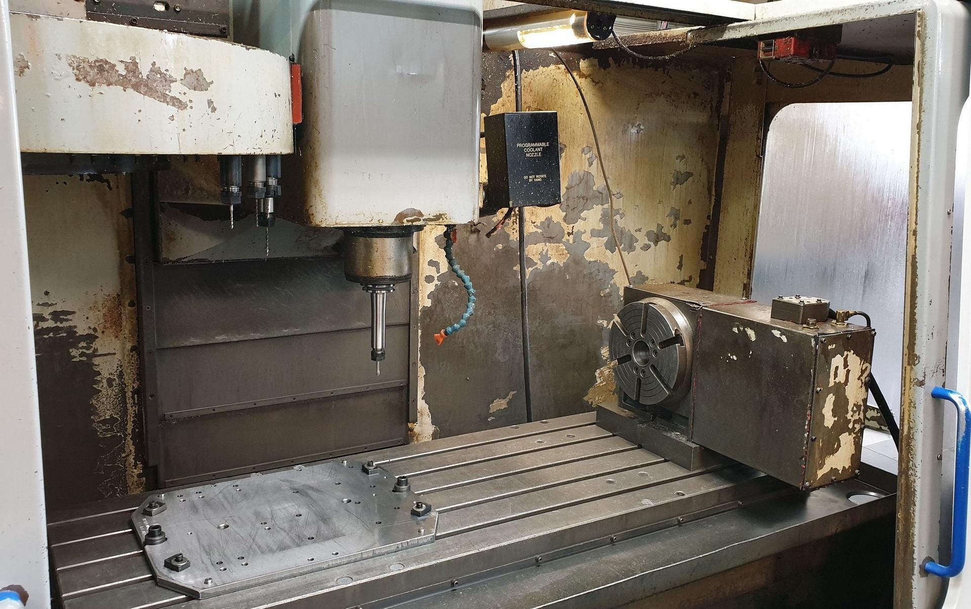 Centro di fresatura verticale HAAS MIKRON VCE 1250 in vendita - foto 3
