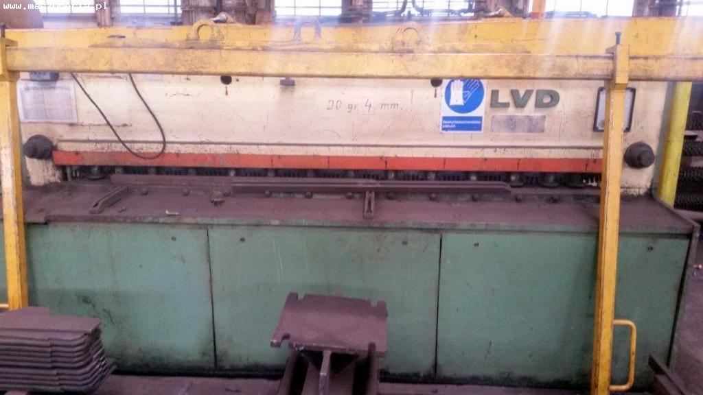 Cesoia a ghigliottina idraulica LVD MV 25/4 in vendita - foto 1
