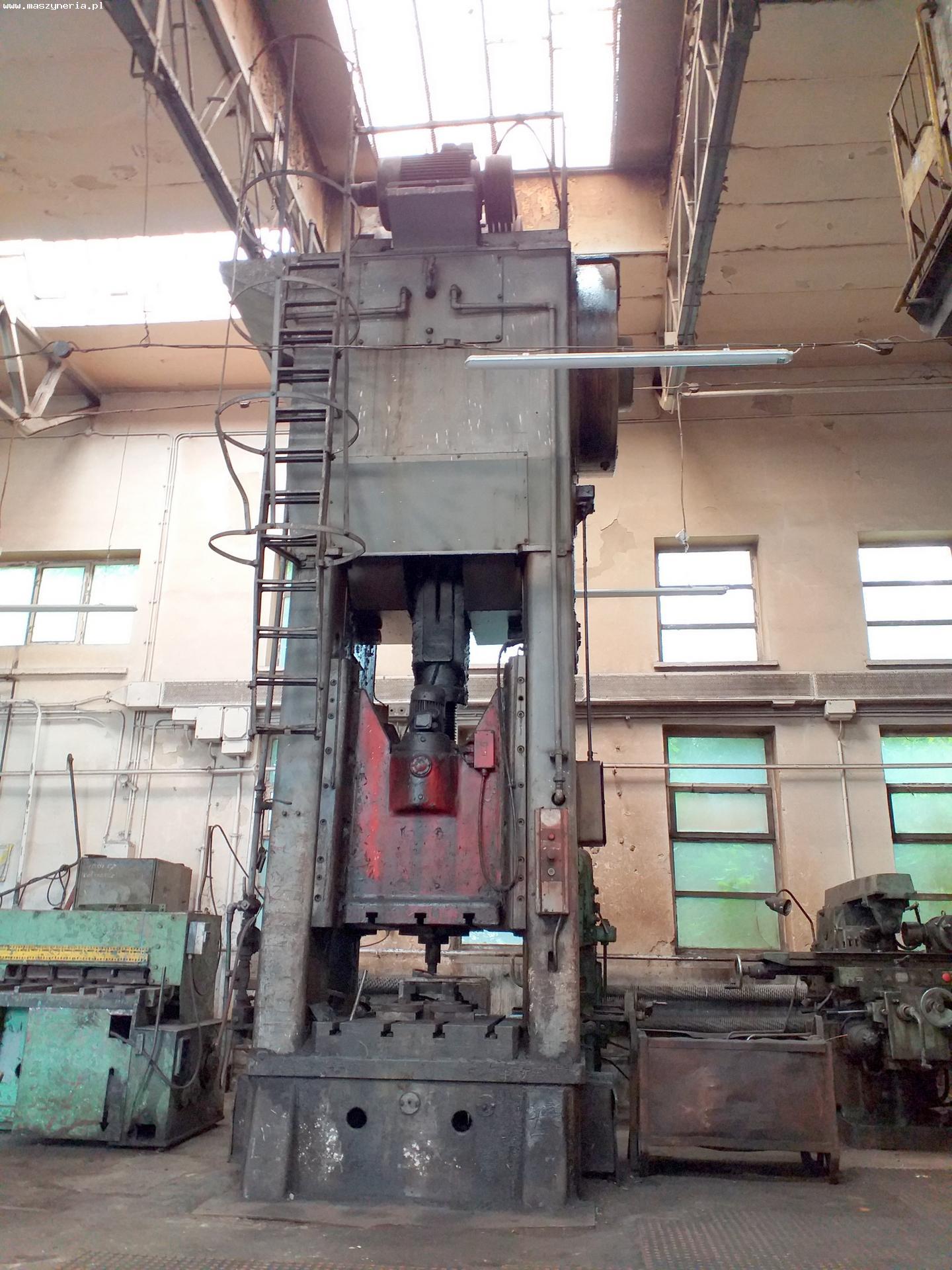 Pressa meccanica due montanti HECKERT PKZ 400.1 in vendita - foto 1