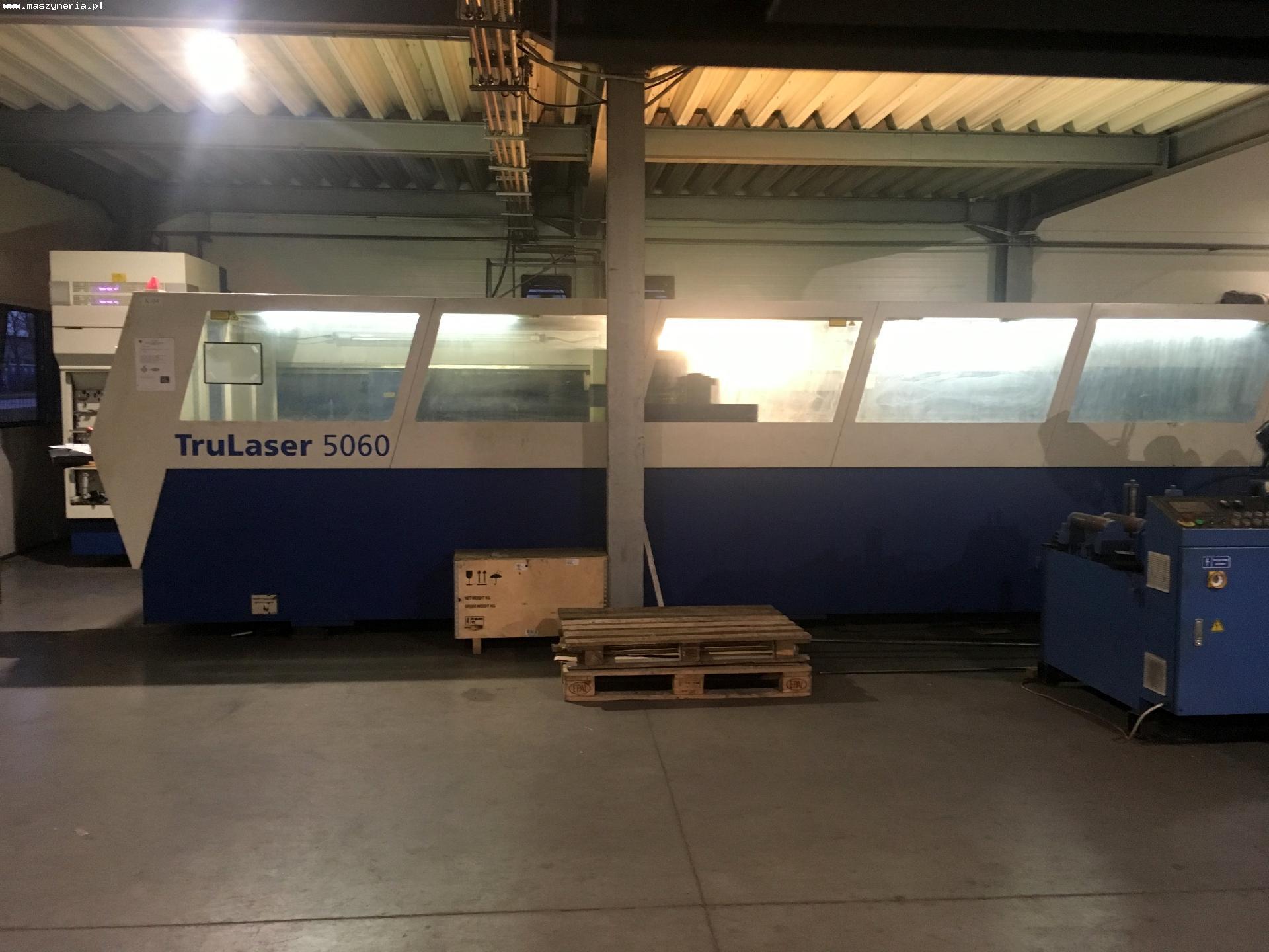 Laser TRUMPF TRULASER 5060 5 KW in vendita - foto 1