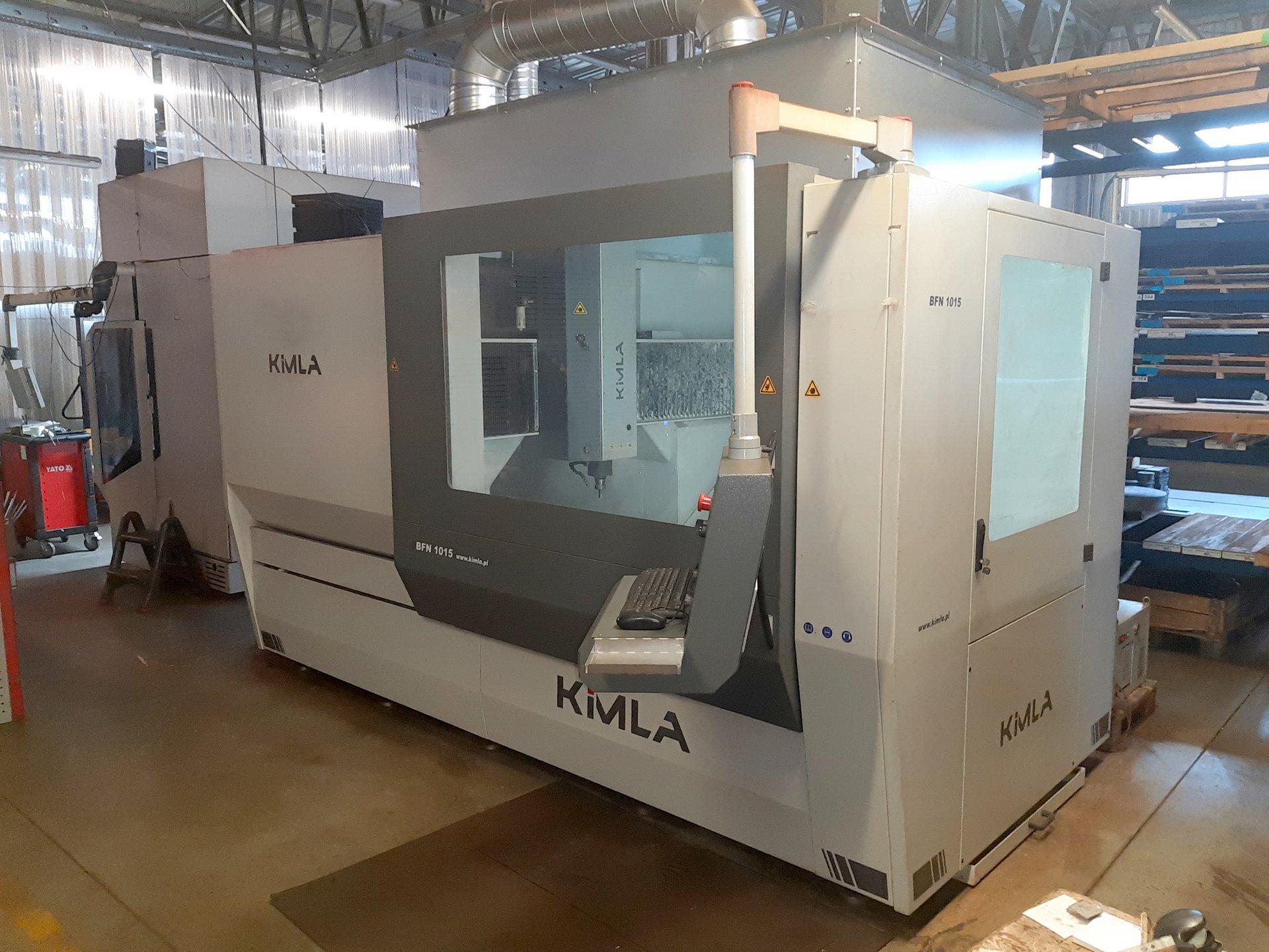 Centro di lavoro CNC KIMLA HSM BFN 1015 Linear in vendita - foto 2