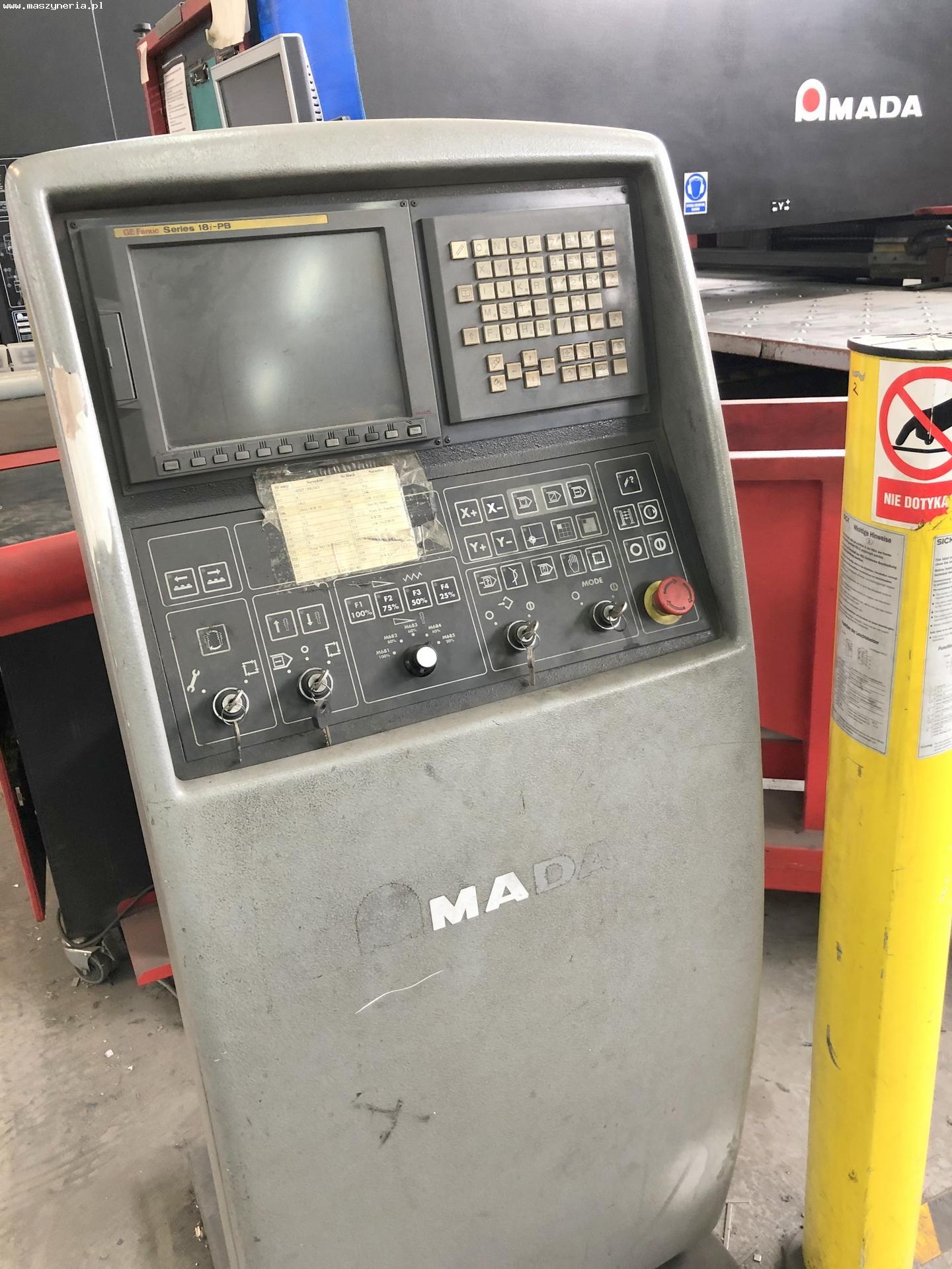 Punzonatrice a torretta AMADA EUROPE 258 in vendita - foto 5