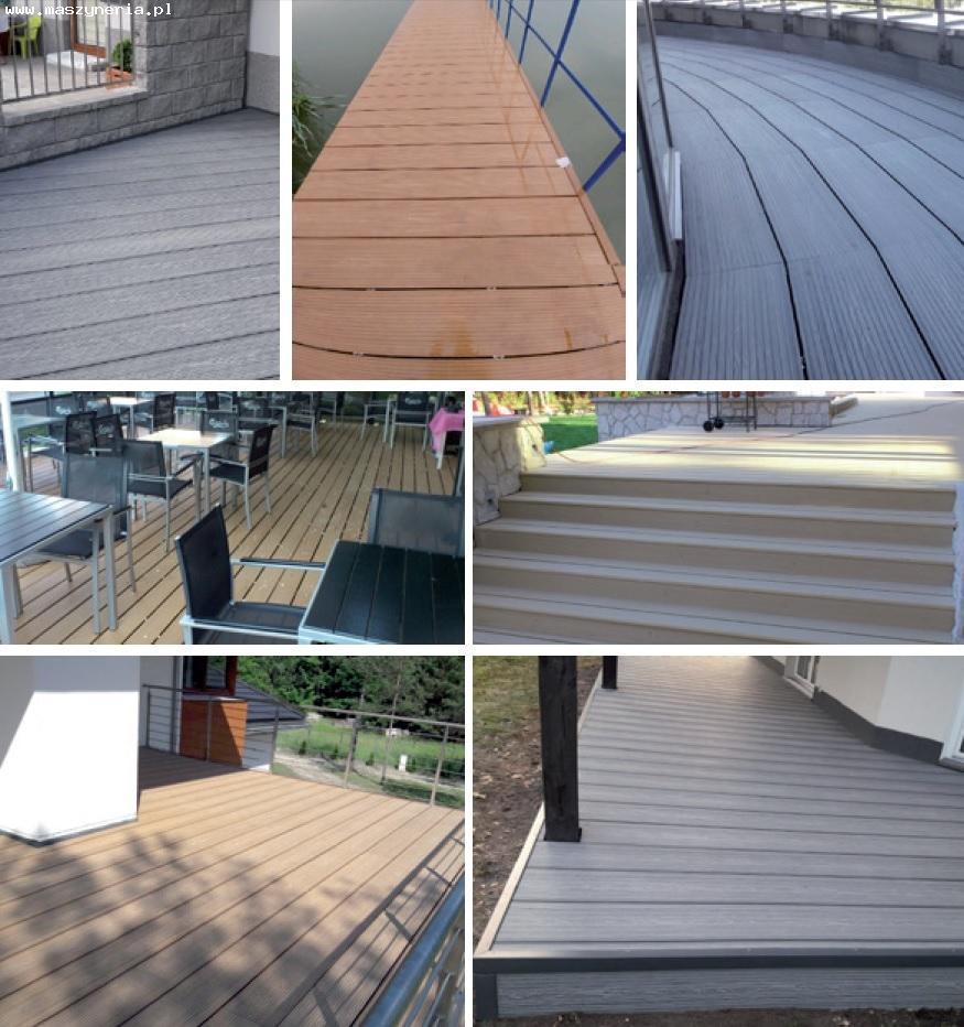 Linea di produzione di decking composito in PVC JWELL in vendita - foto 6