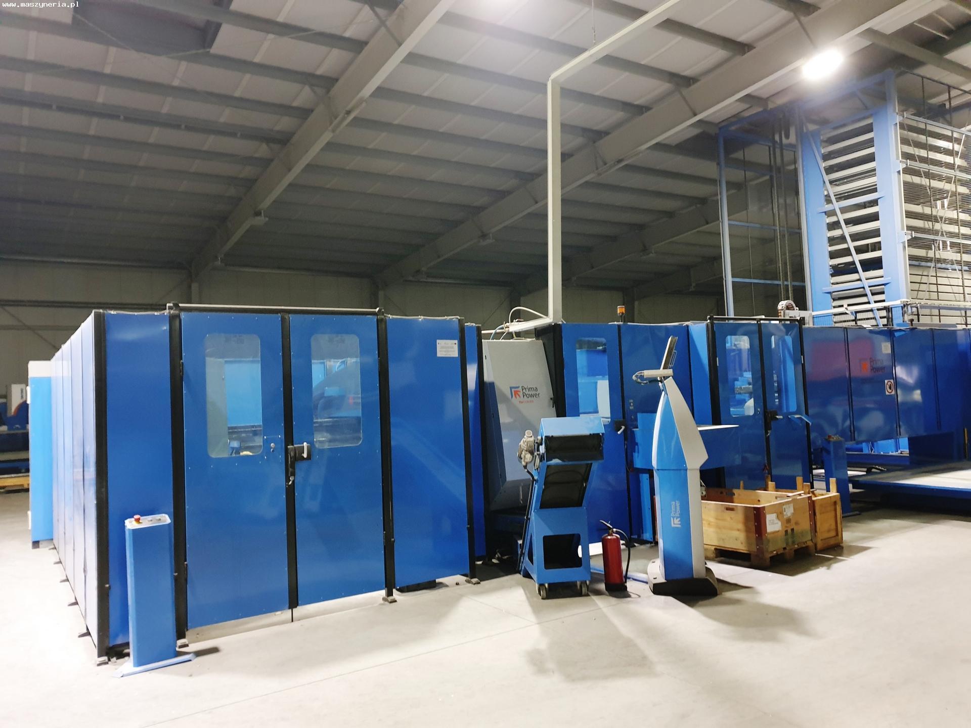 La linea di lavorazione lamiera PRIMA POWER LPE6F in vendita - foto 2