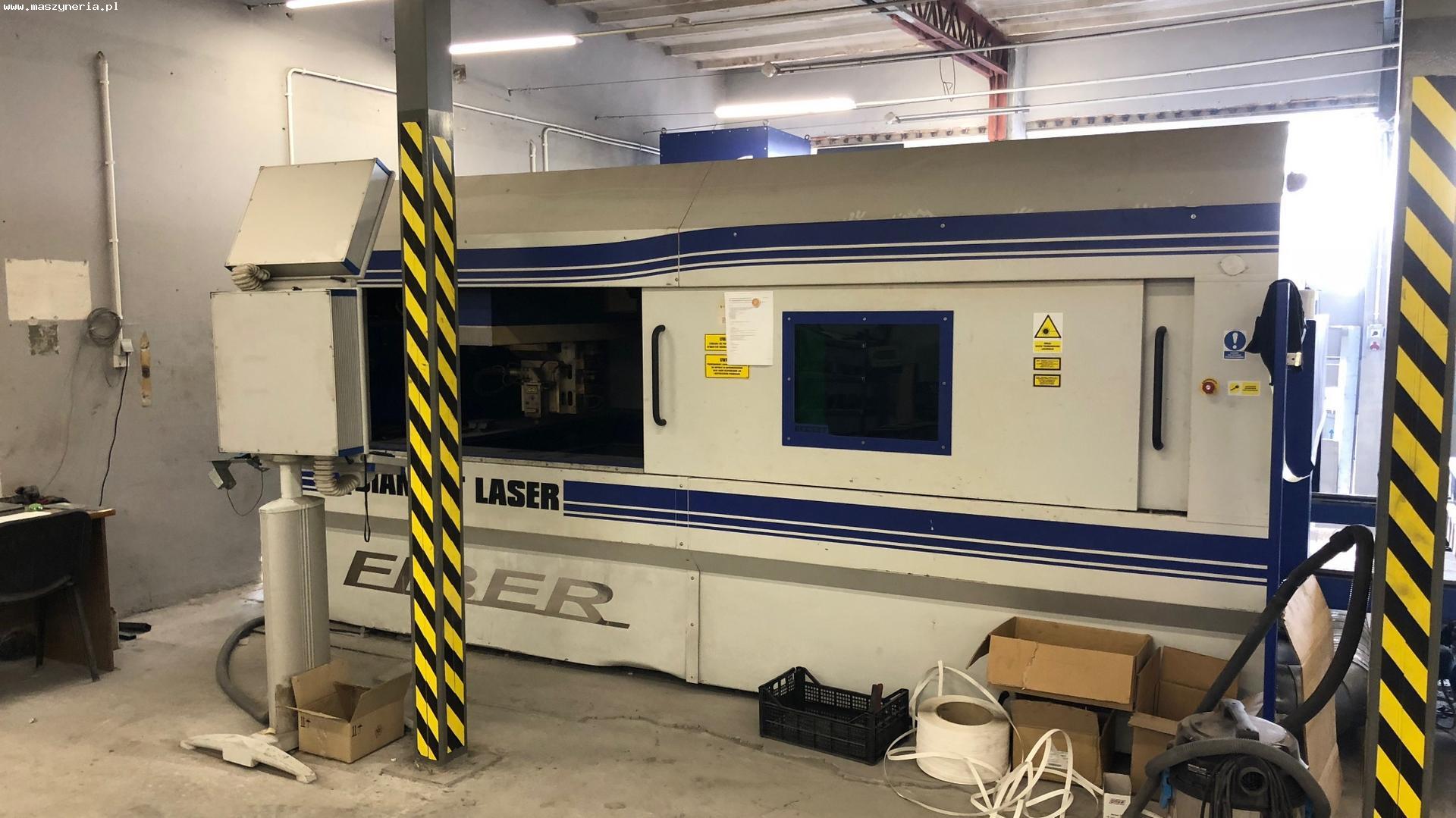Macchina taglio laser fibra ECKERT DIAMENT FIBER 2 KW in vendita - foto 2