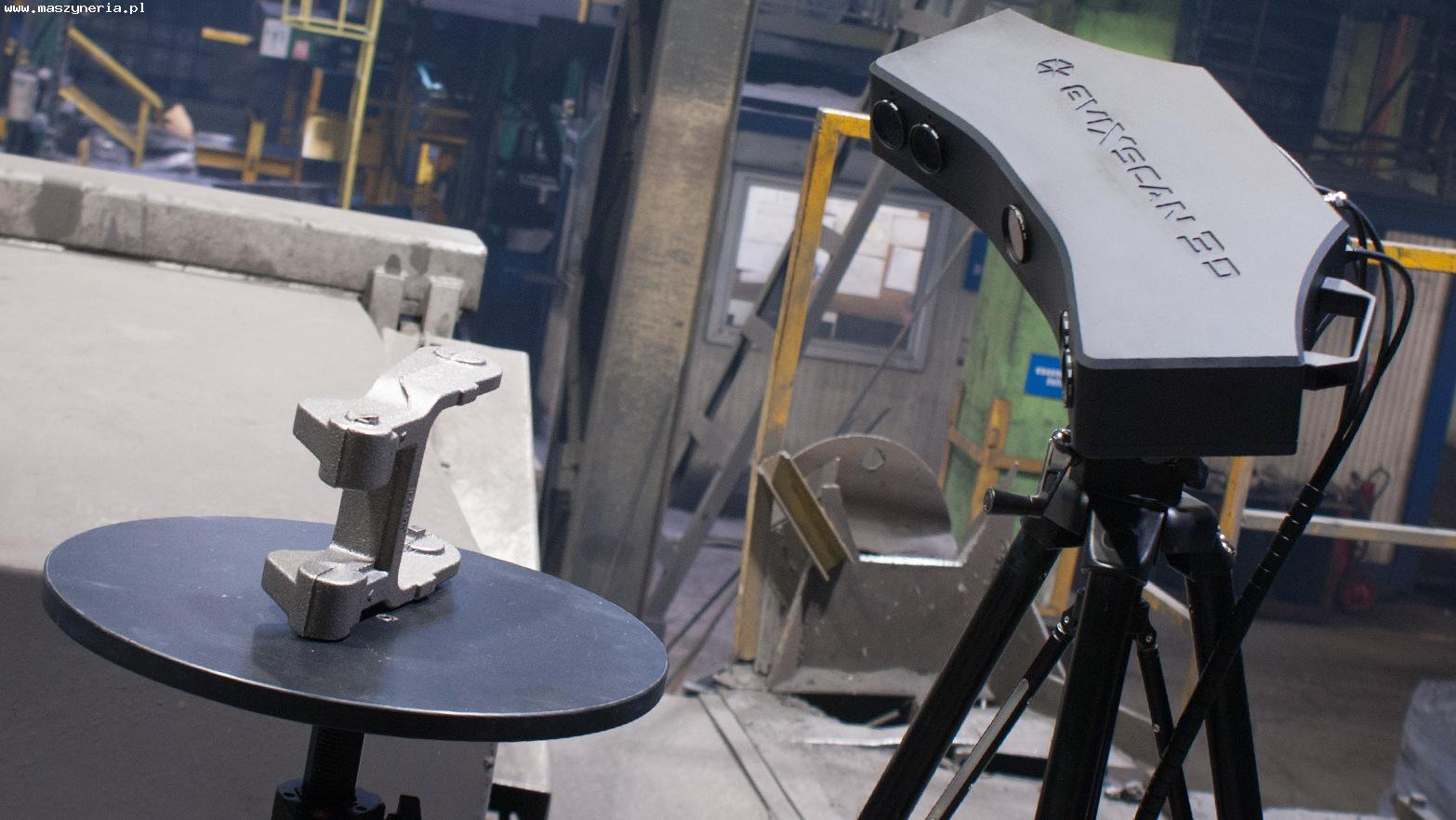 Lo scanner 3D EVATRONIX EVIXSCAN HEAVY DUTY QUADRO in vendita - foto 1