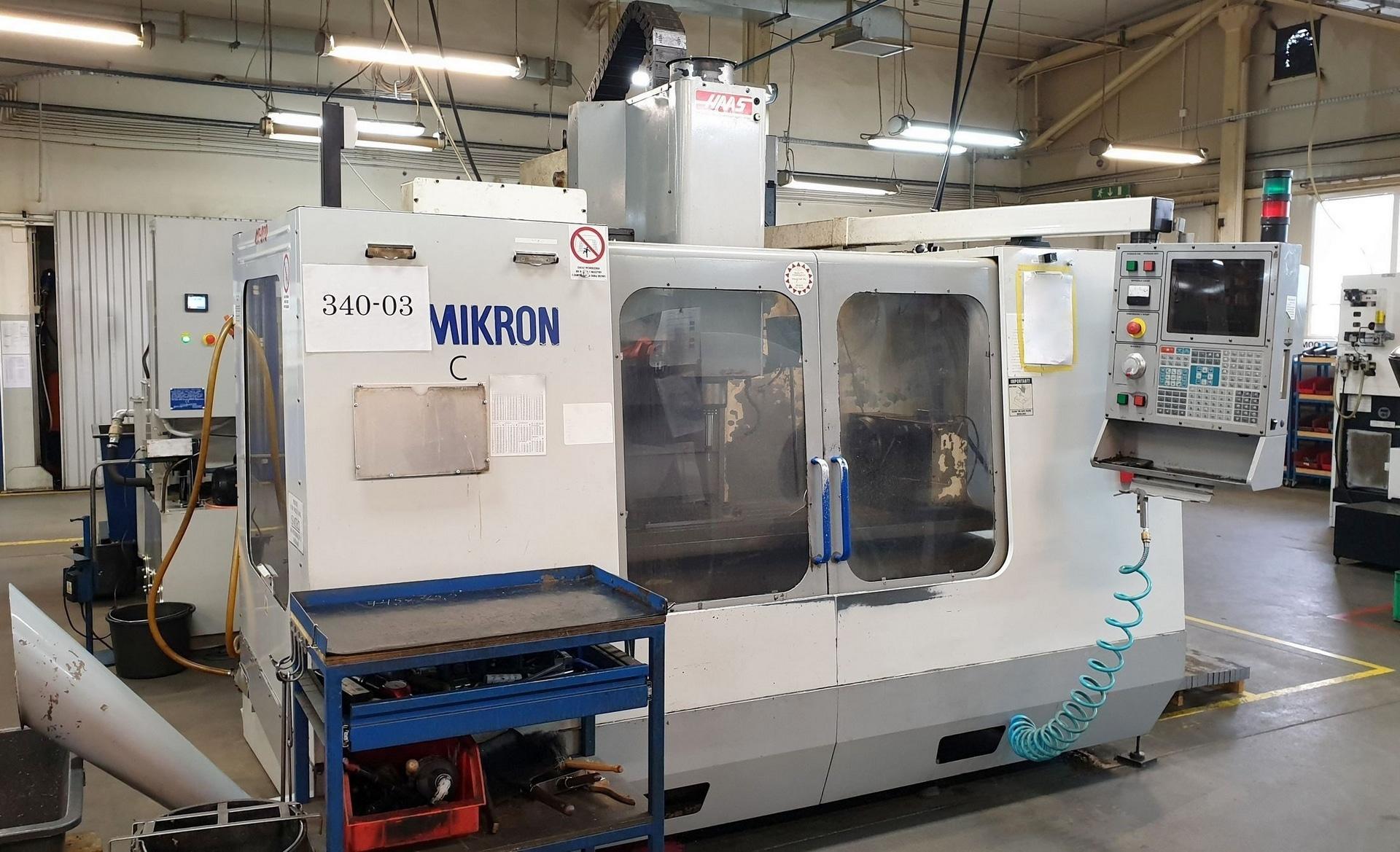 Centro di fresatura verticale HAAS MIKRON VCE 1250 in vendita - foto 1