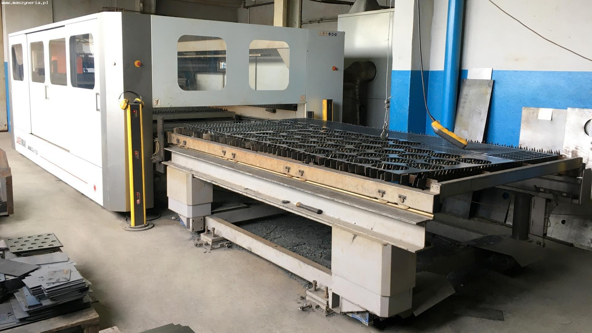 Macchina taglio laser ERMAKSAN LASERMAK 4000,3 x 1,5 in vendita - foto 2