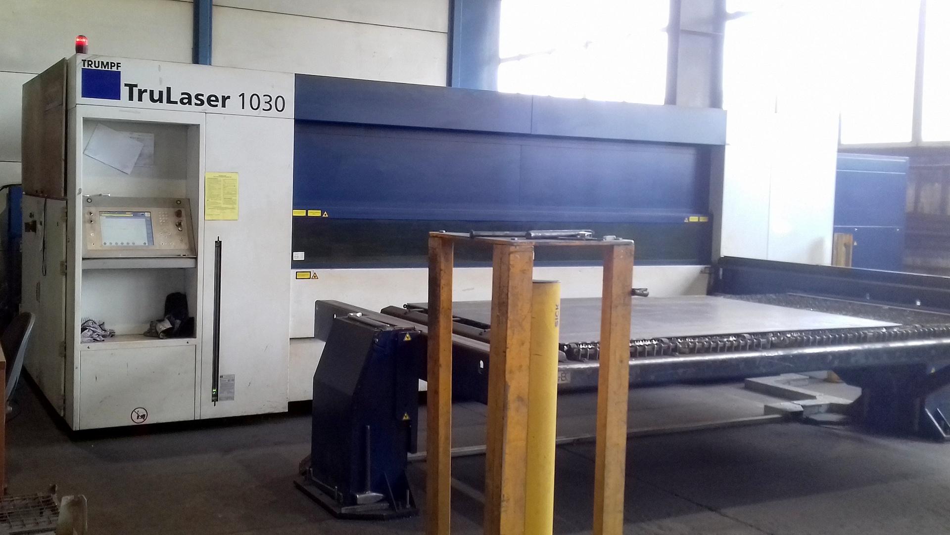 Macchina taglio laser TRUMPF TRULASER 1030 FIBER in vendita - foto 1