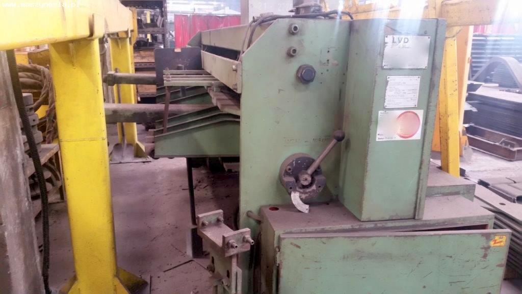 Cesoia a ghigliottina idraulica LVD MV 25/4 in vendita - foto 2