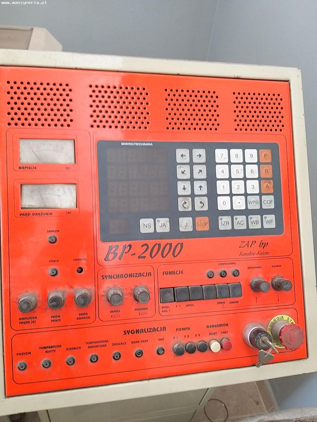 Macchina per elettroerosione a tuffo ZAP BP 2000 in vendita - foto 4