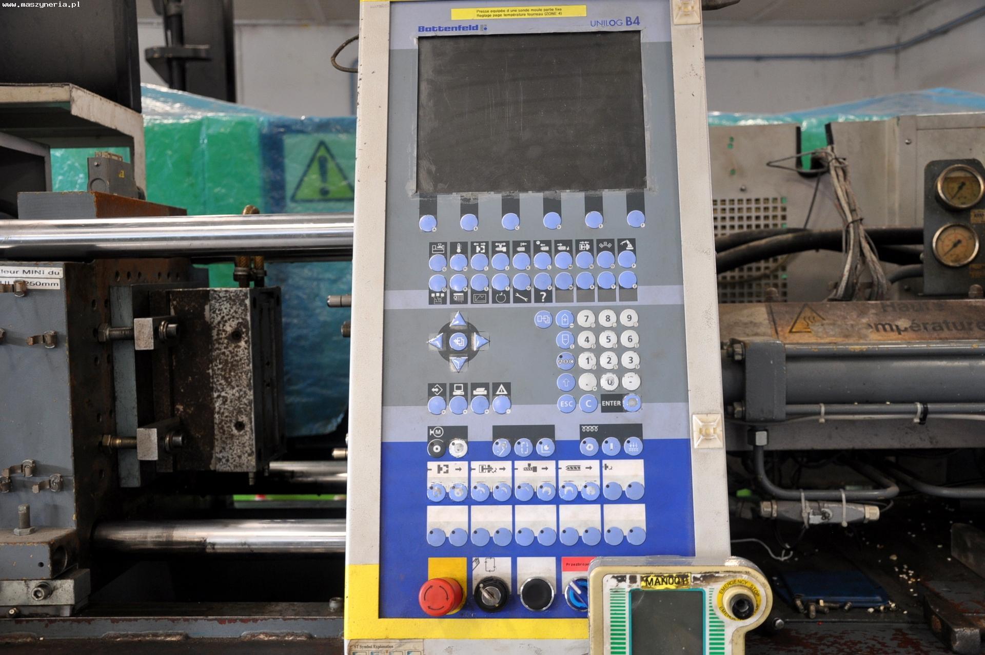 Pressa ad iniezione BATTENFELD BA 600 CDC in vendita - foto 5
