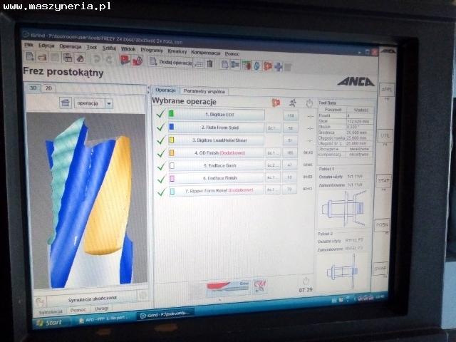 ANCA GX7 CNC affilatrice universale per utensili in vendita - foto 6