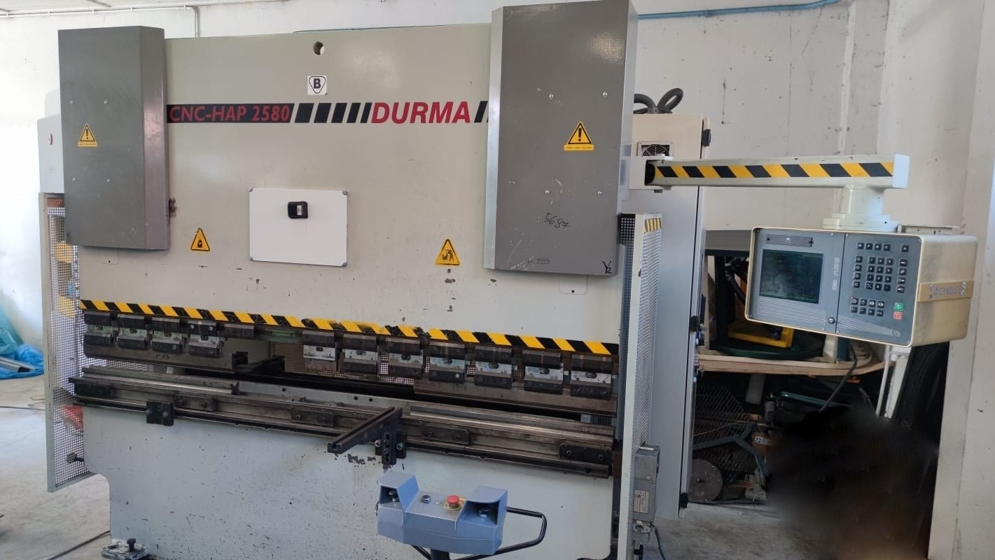 Pressa piegatrice idraulica CNC DURMA HAP 2580 in vendita - foto 1