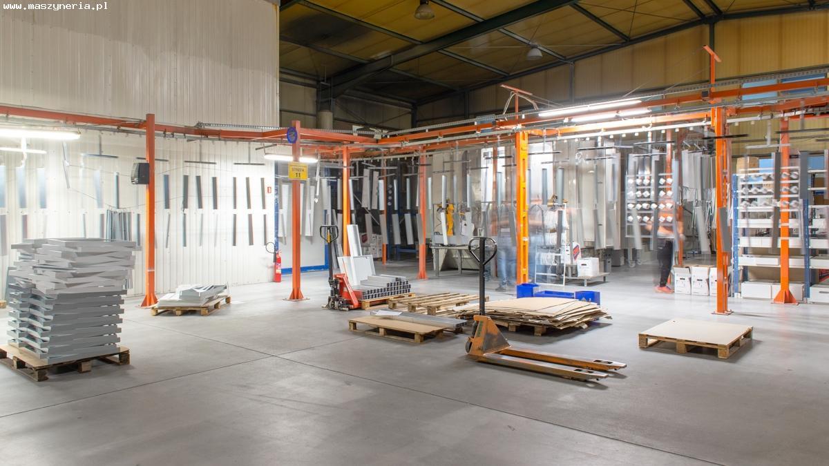 L'impianto di verniciatura a polvere MONKIEWICZ in vendita - foto 2