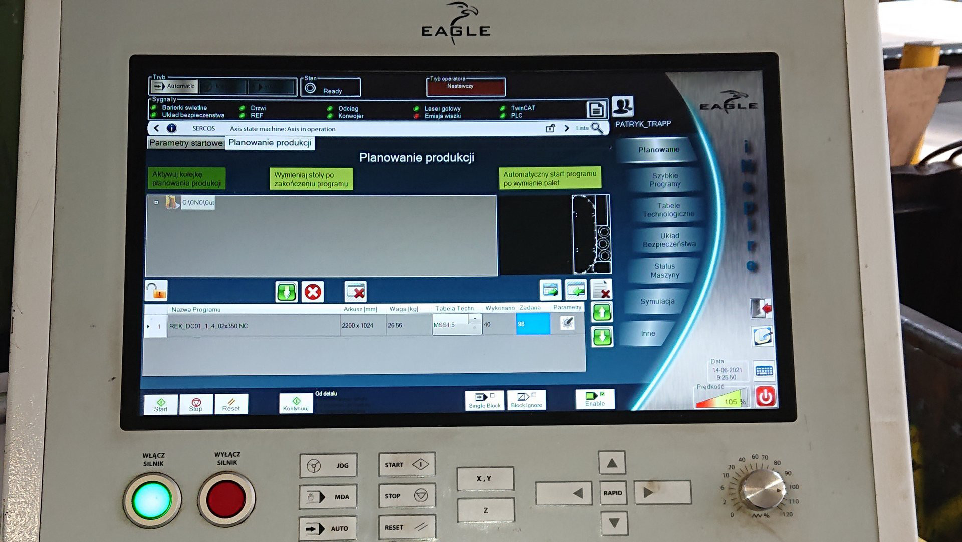 Laser fibra EAGLE INSPIRE 1530 F6.0 in vendita - foto 4
