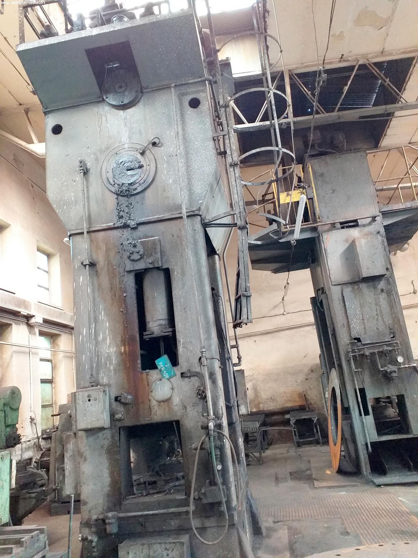 Pressa meccanica due montanti HECKERT PKZ 400.1 in vendita - foto 3