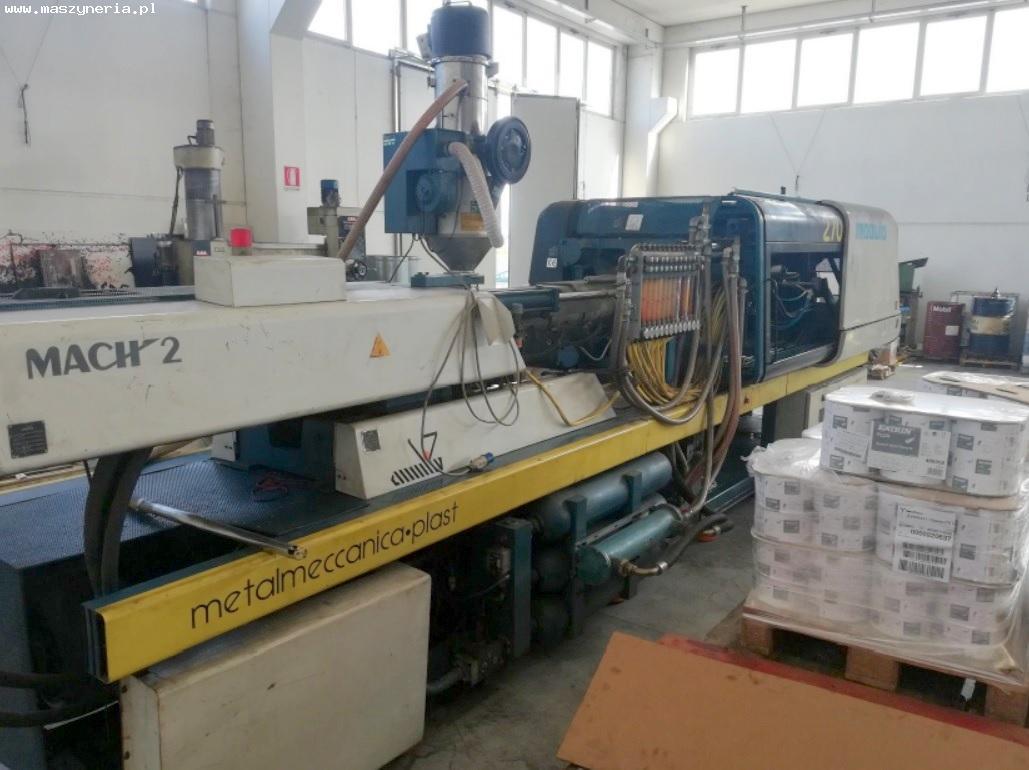 Pressa ad iniezione SANDRETTO MODULA 270/1372 MACH 2 in vendita - foto 2