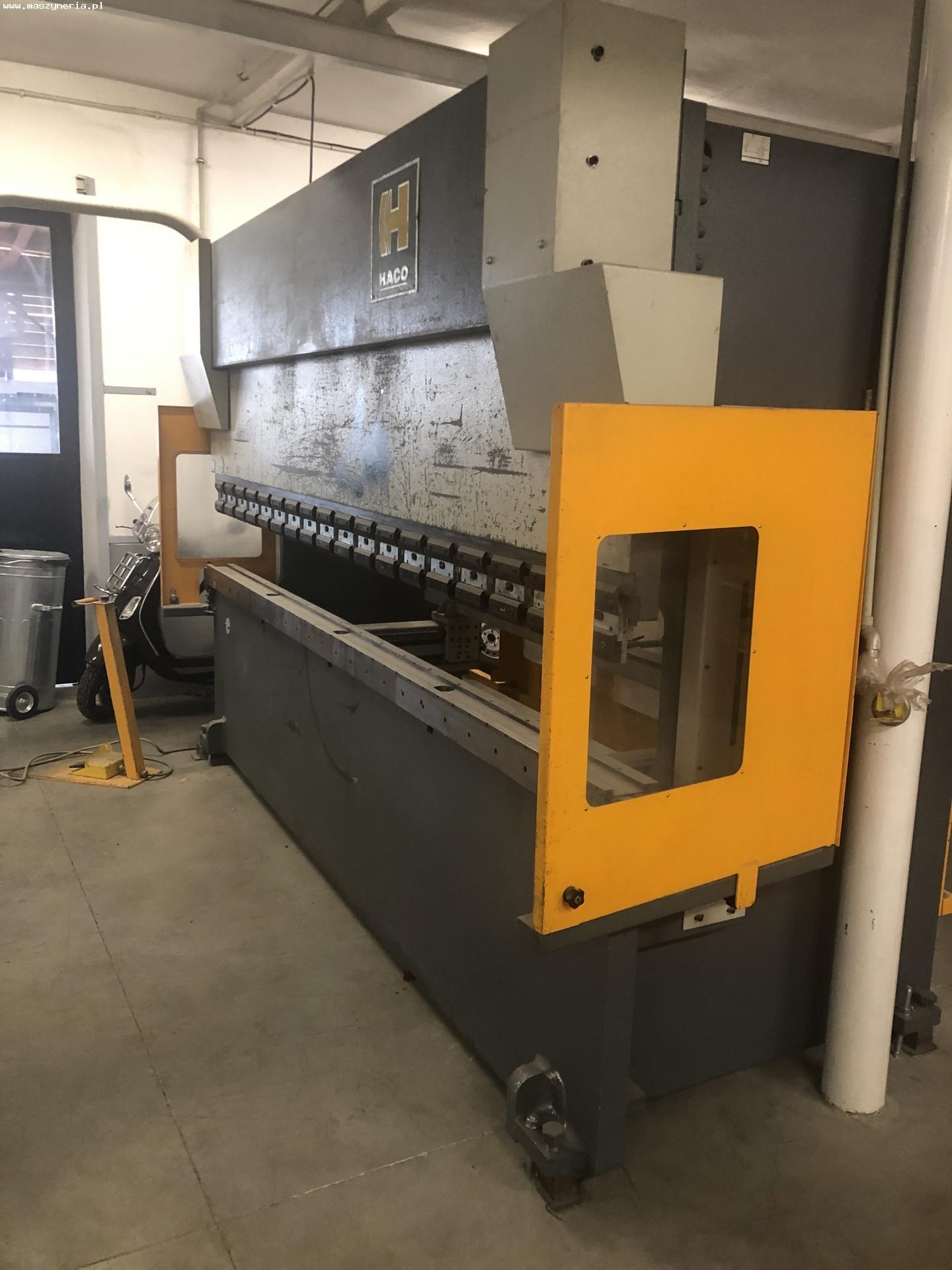 Pressa piegatrice CNC HACO ERM 36135 in vendita - foto 2