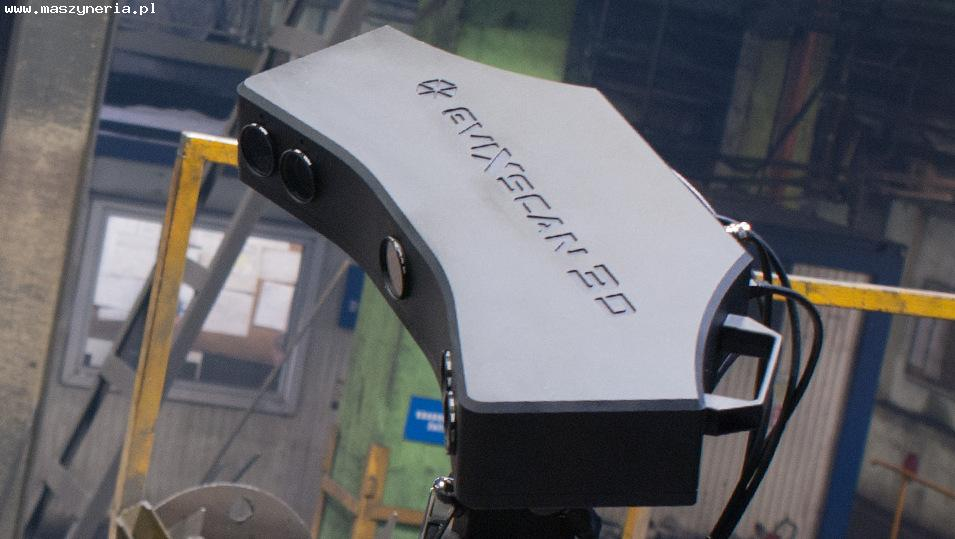 Lo scanner 3D EVATRONIX EVIXSCAN HEAVY DUTY QUADRO in vendita - foto 2
