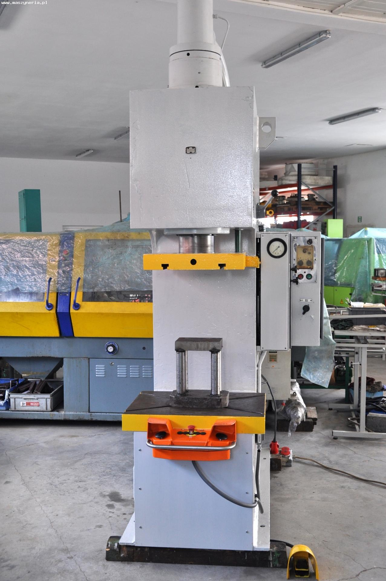 Pressa idraulica WMW ERFURT PYE 63 S1 in vendita - foto 2