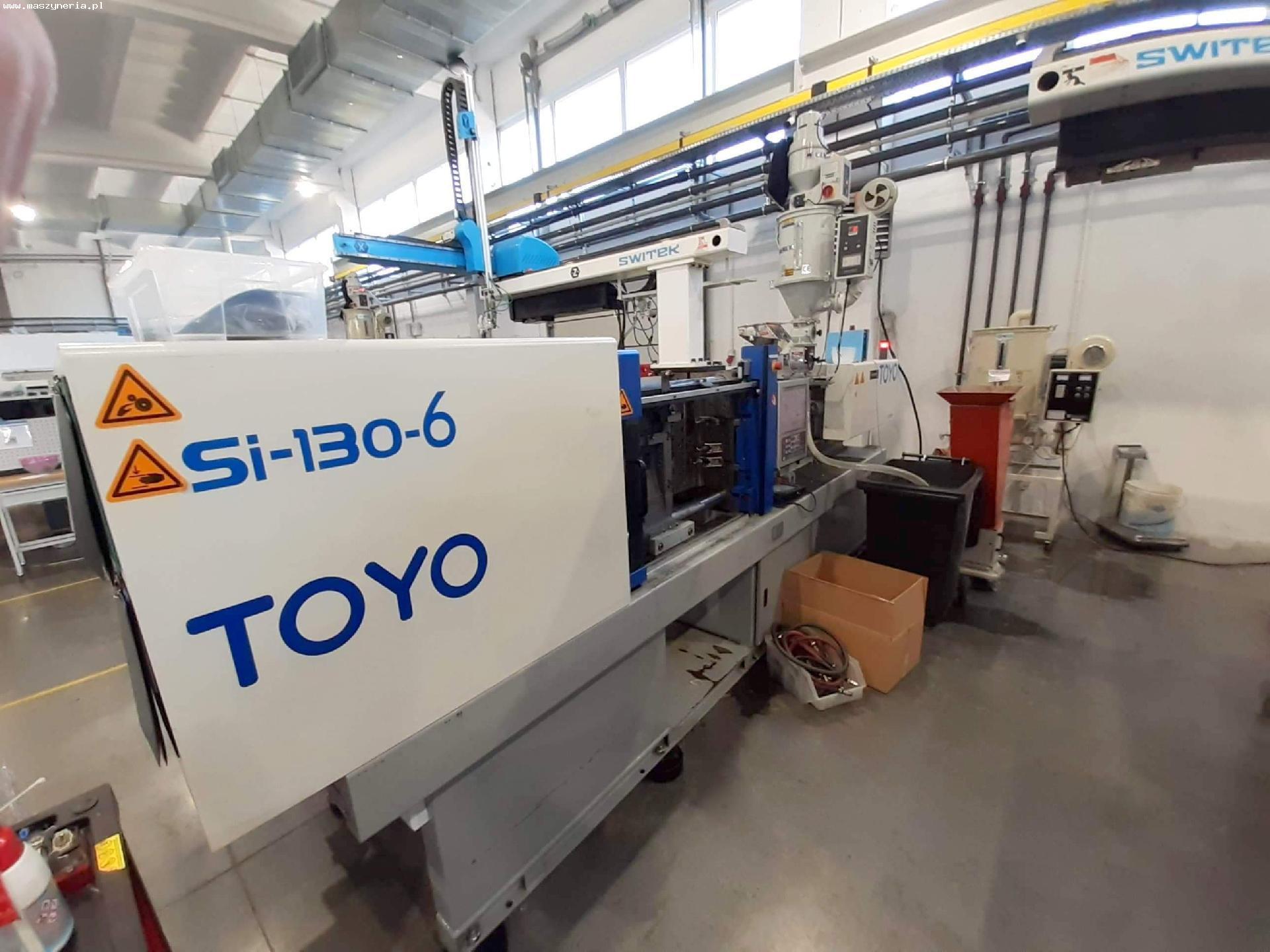 TOYO MACCHINE SI-130-6 iniezione plastica macchina in vendita - foto 1