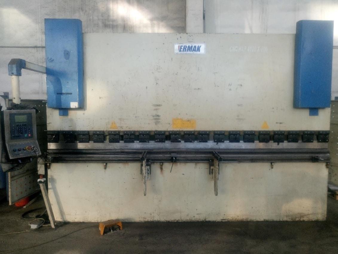 Pressa piegatrice CNC ERMAK CNCAP-4100X200 in vendita - foto 1